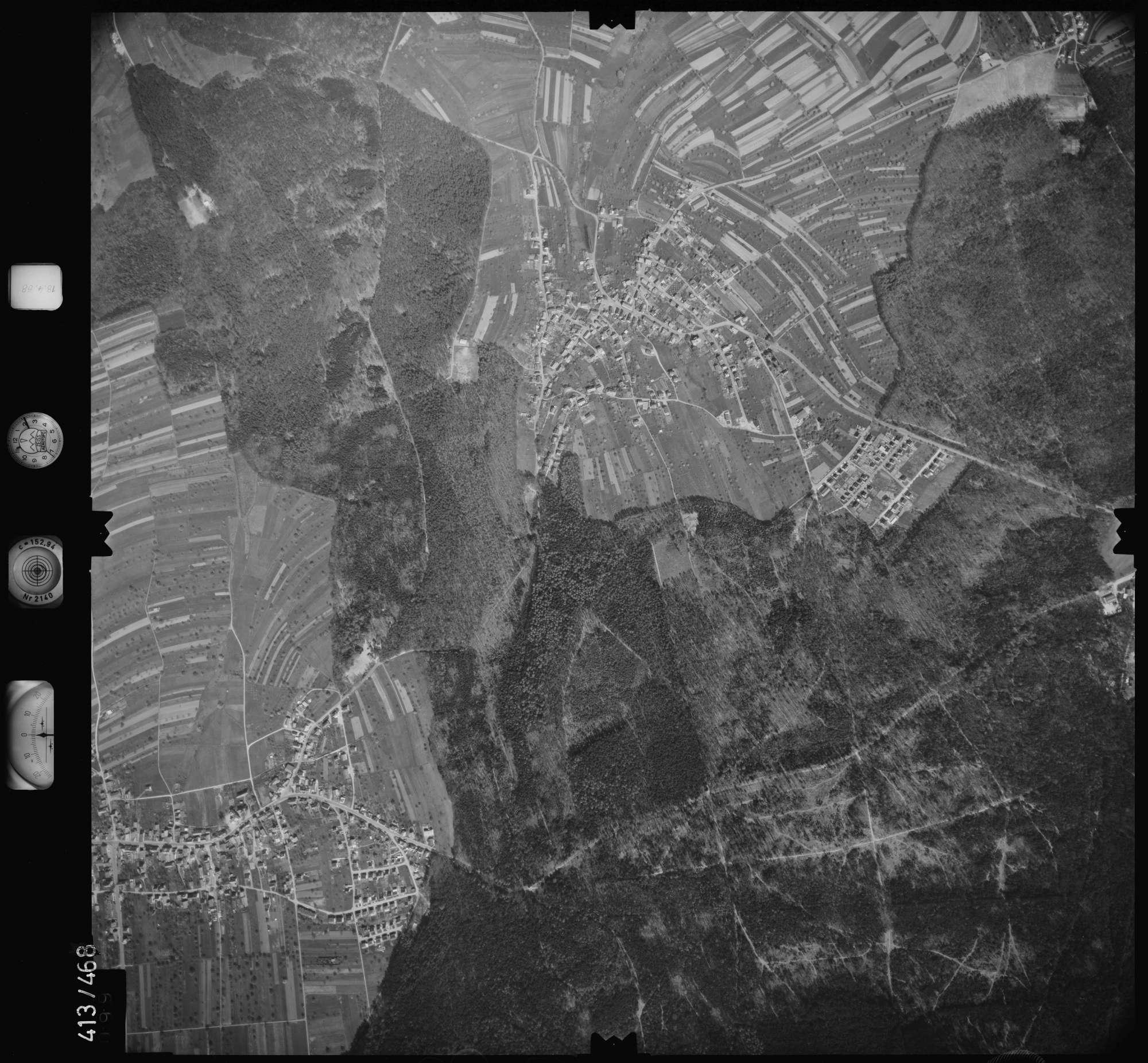 Luftbild: Film 4 Bildnr. 99, Bild 1