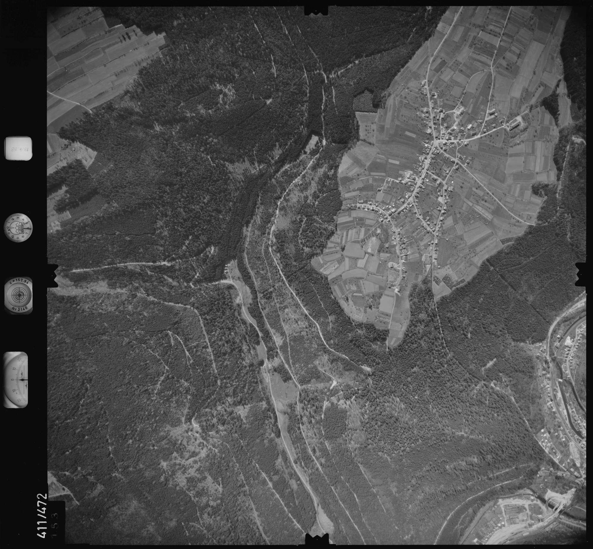 Luftbild: Film 4 Bildnr. 153, Bild 1