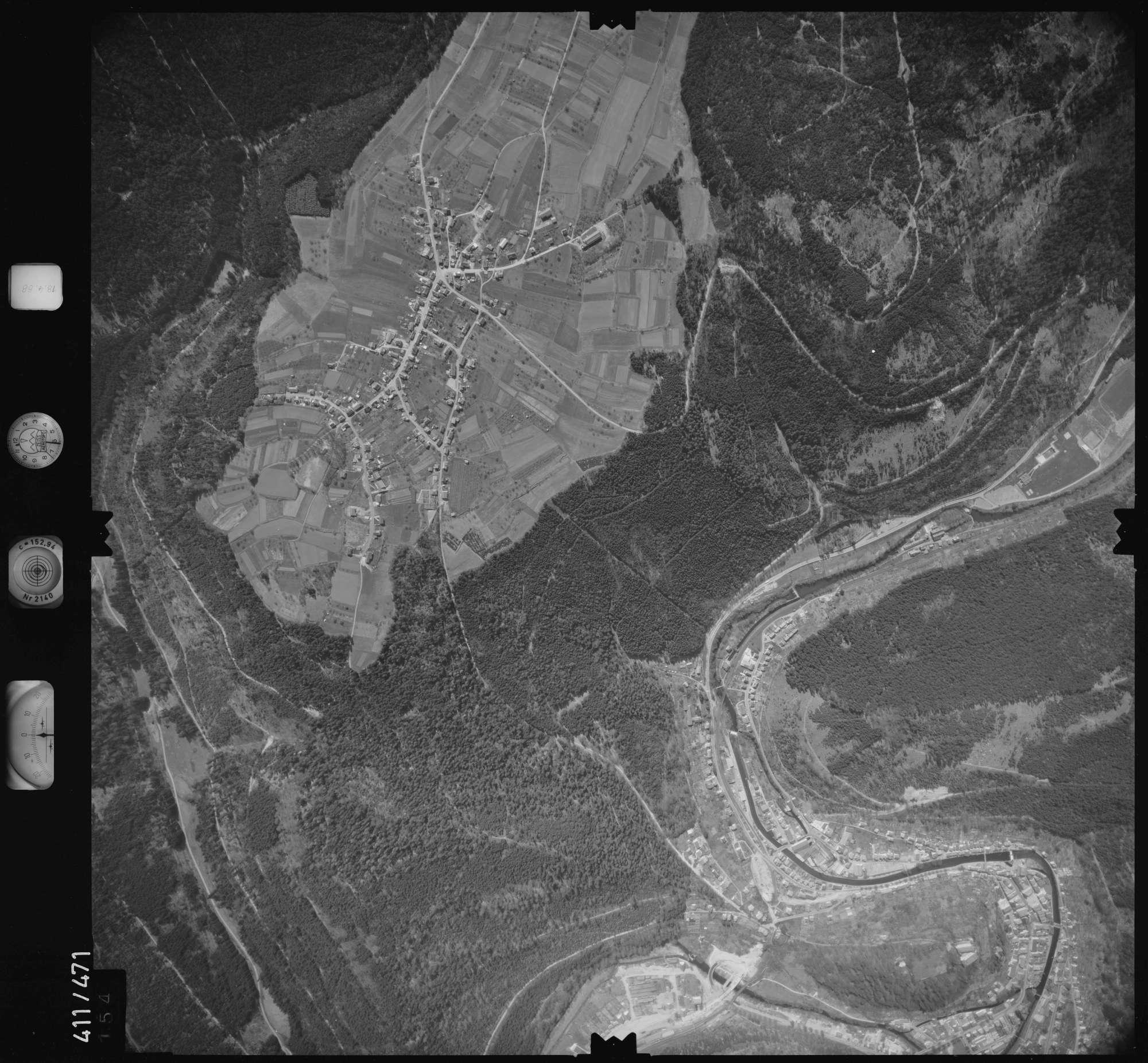 Luftbild: Film 4 Bildnr. 154, Bild 1