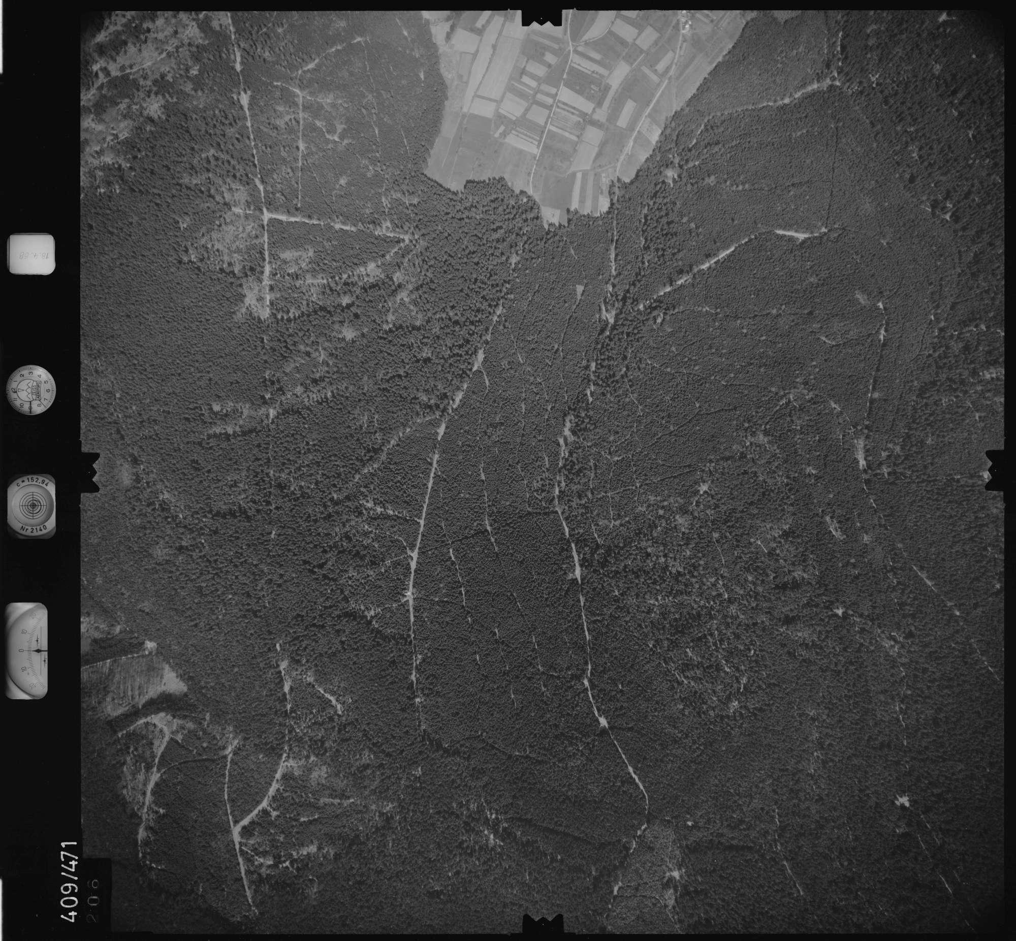 Luftbild: Film 4 Bildnr. 206, Bild 1