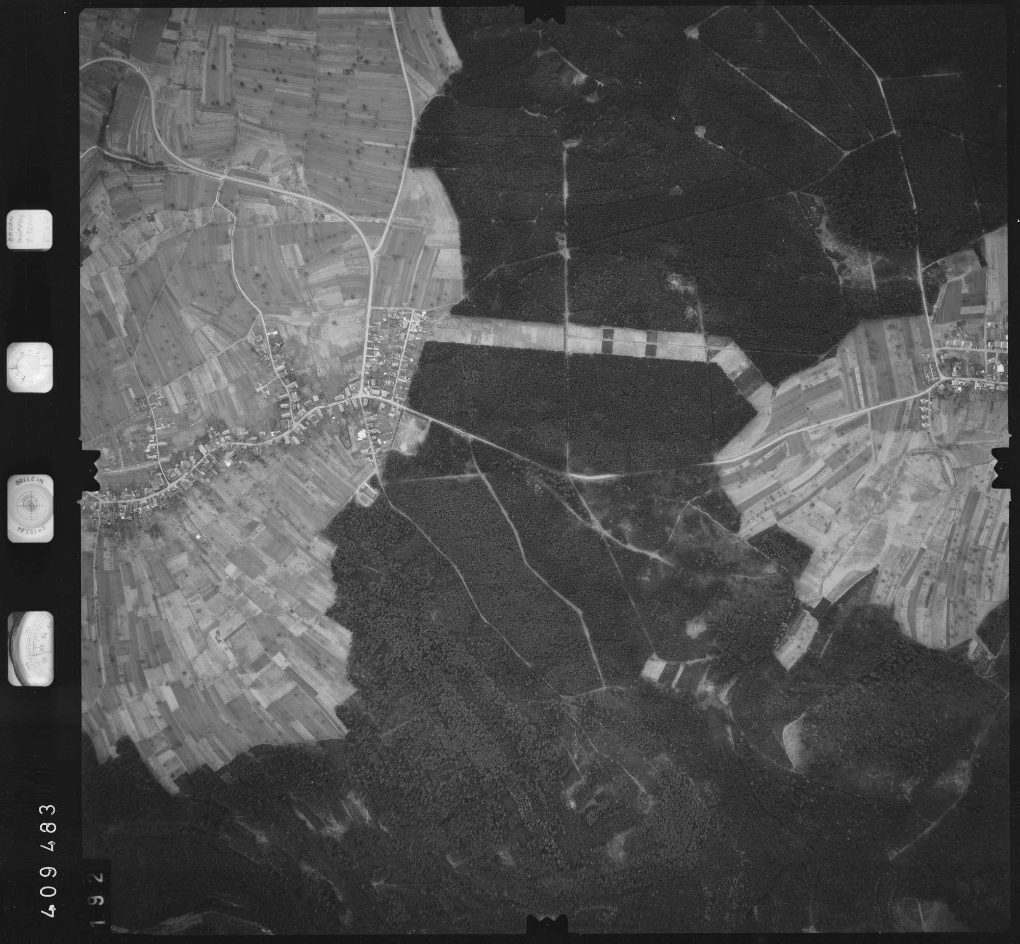 Luftbild: Film 5 Bildnr. 192, Bild 1