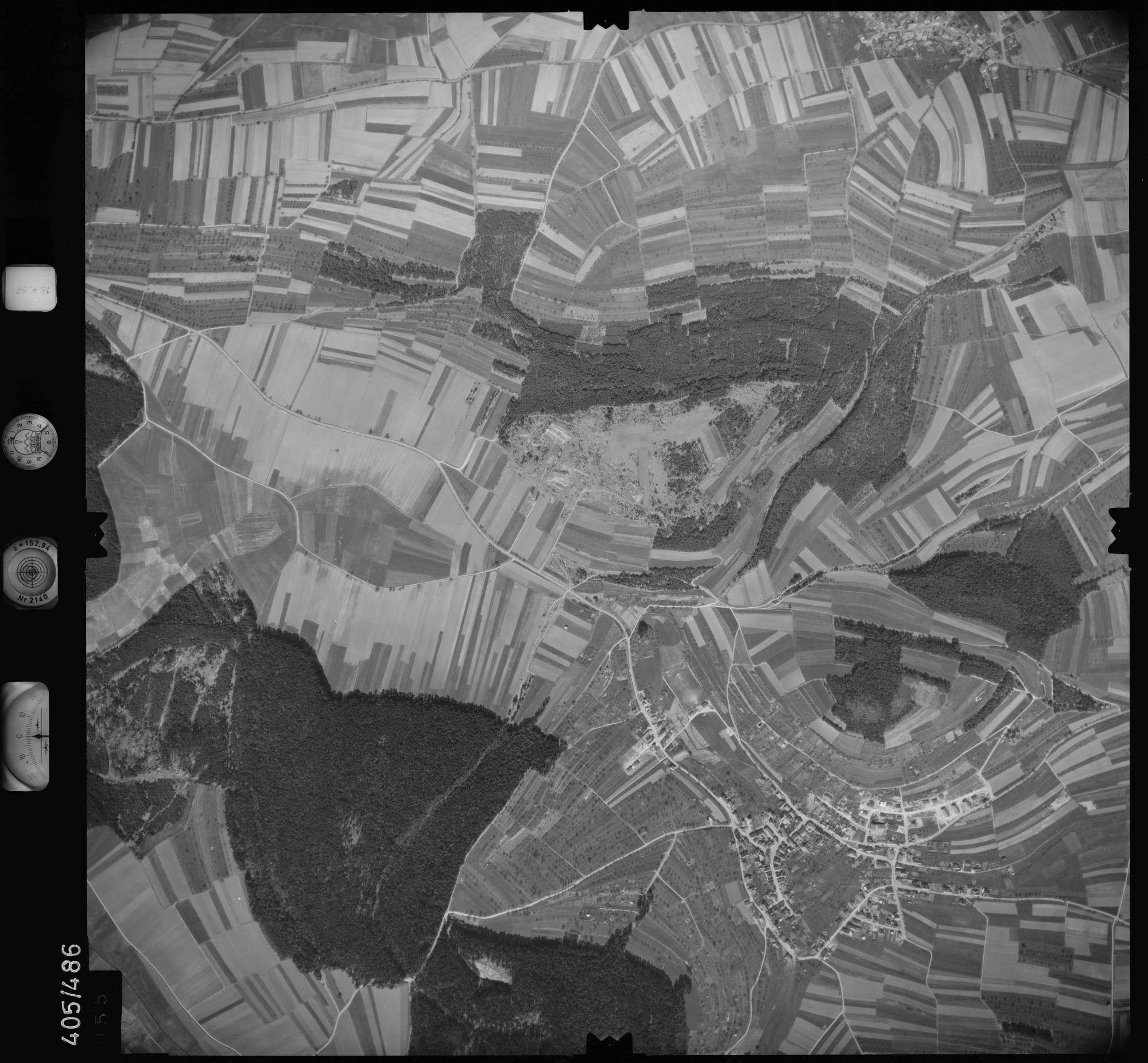 Luftbild: Film 9 Bildnr. 55, Bild 1