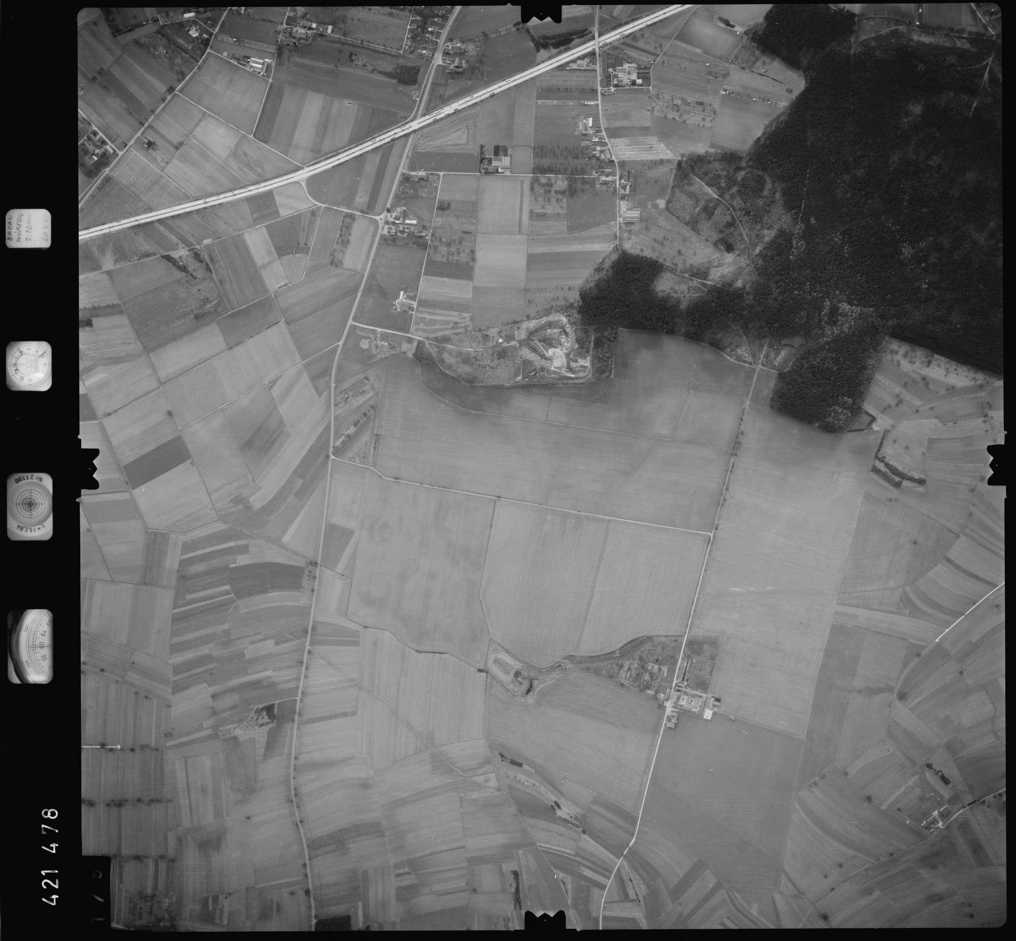 Luftbild: Film 1 Bildnr. 179, Bild 1