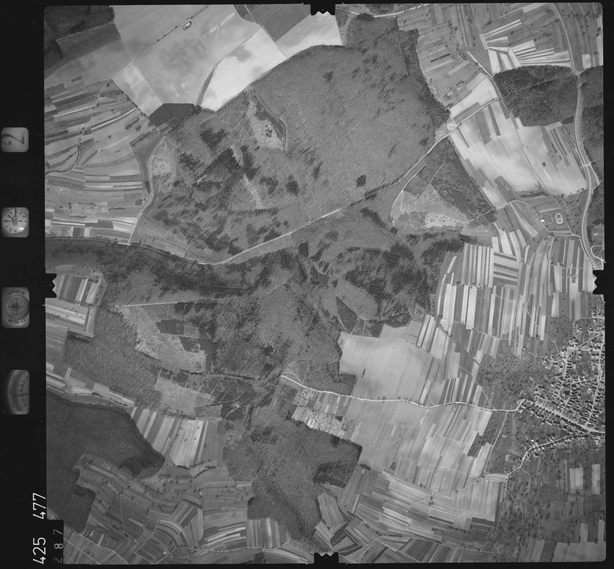 Luftbild: Film 2 Bildnr. 287, Bild 1