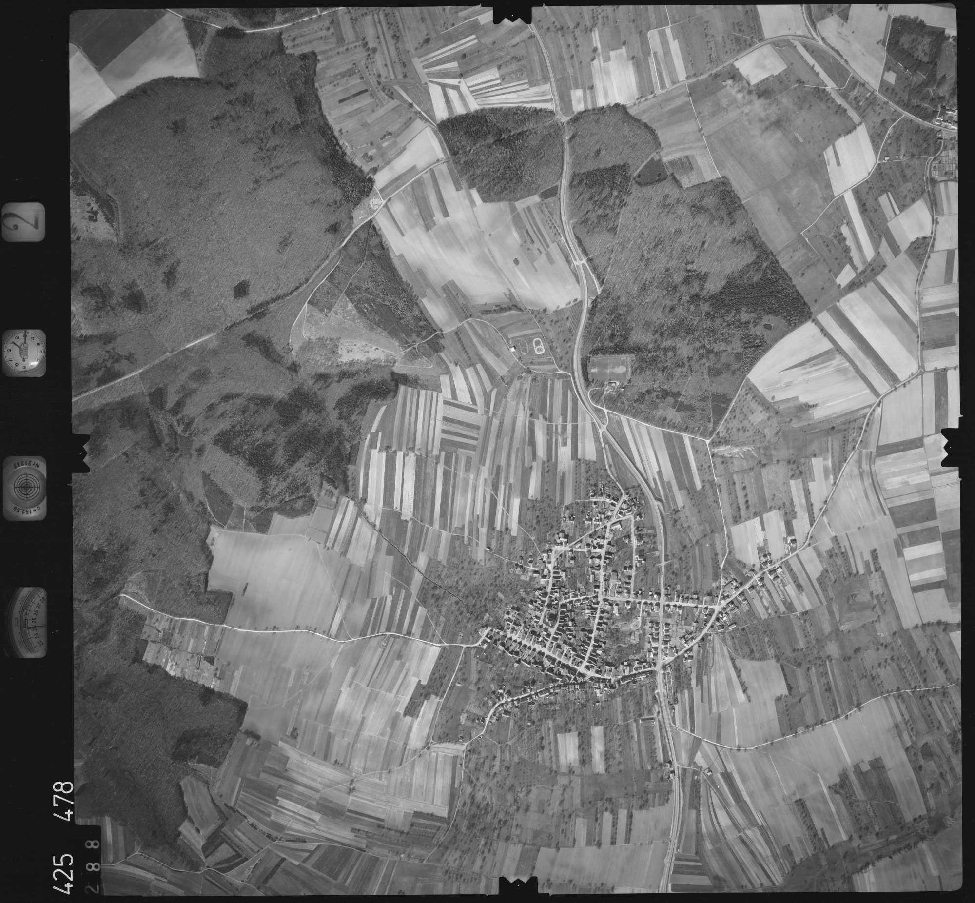 Luftbild: Film 2 Bildnr. 288, Bild 1
