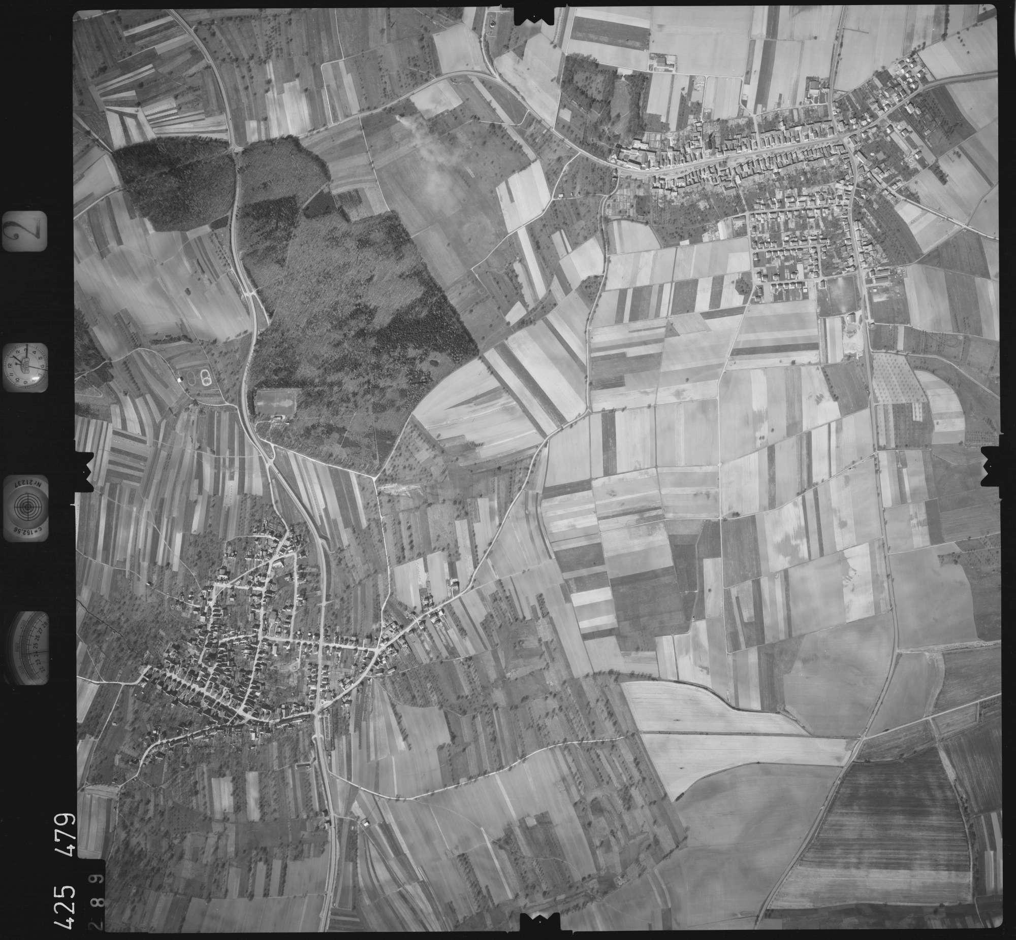 Luftbild: Film 2 Bildnr. 289, Bild 1