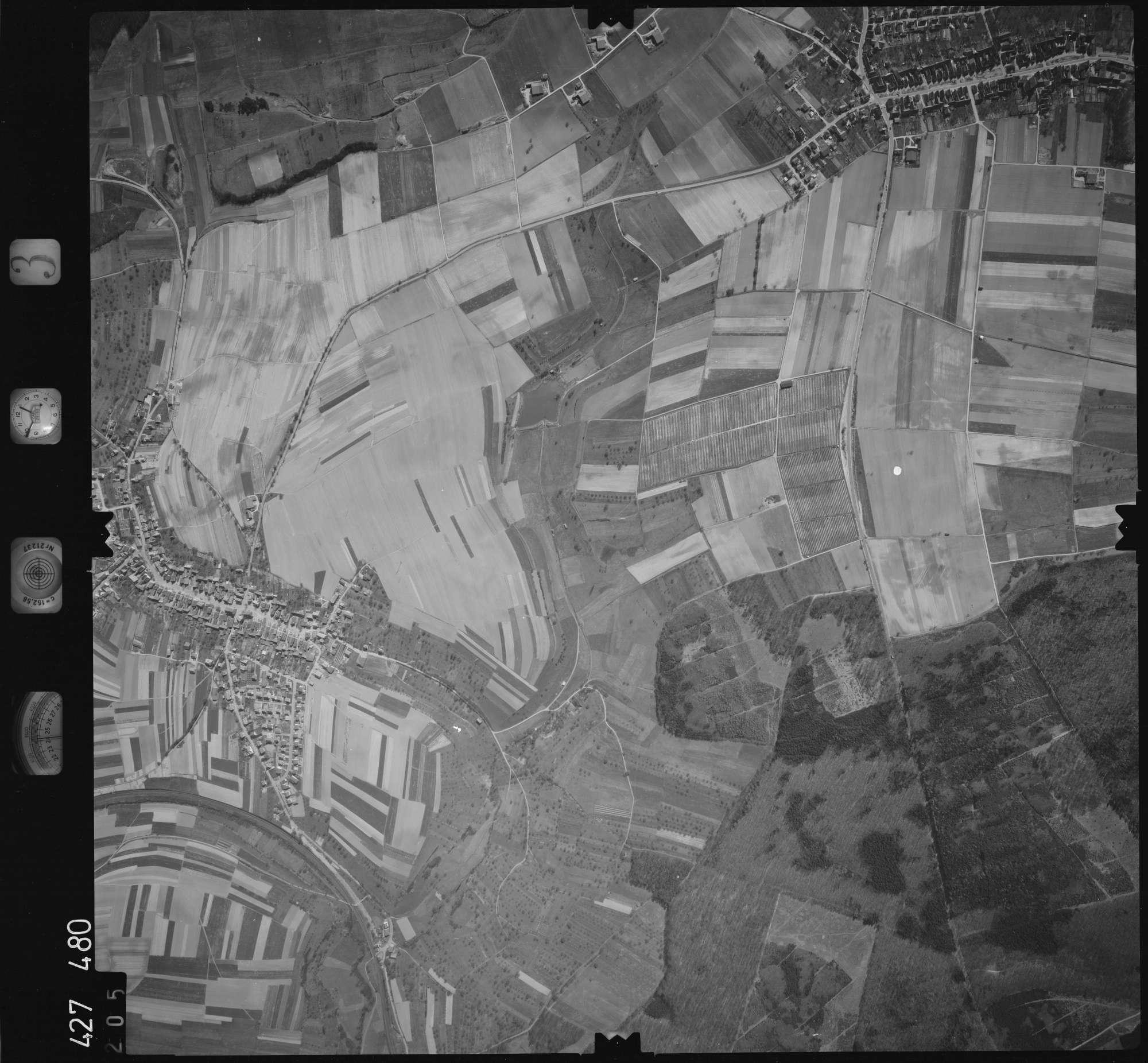 Luftbild: Film 3 Bildnr. 205, Bild 1