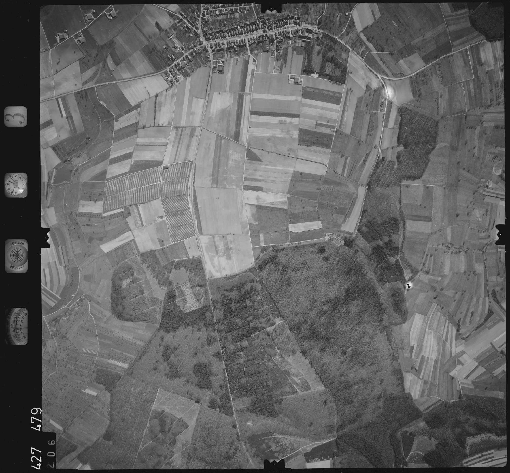 Luftbild: Film 3 Bildnr. 206, Bild 1