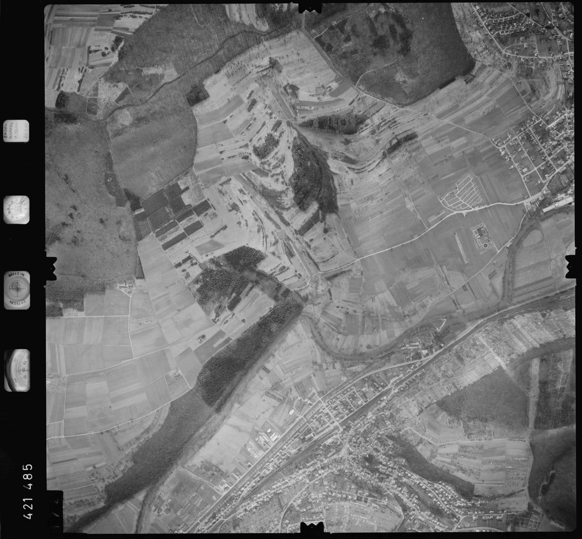 Luftbild: Film 1 Bildnr. 172, Bild 1
