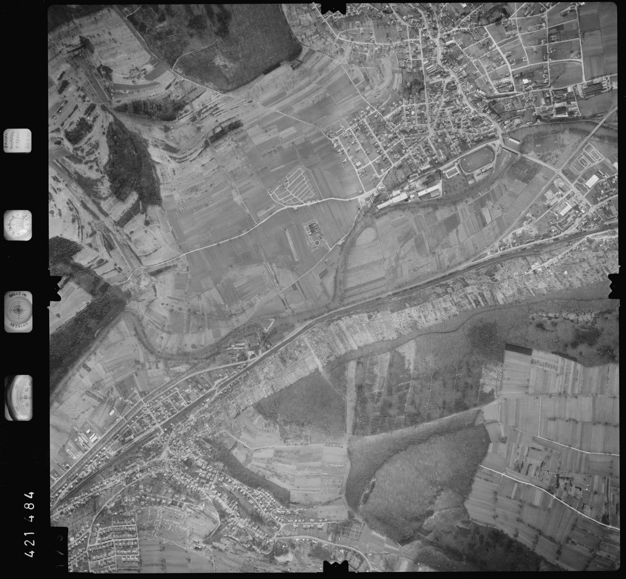 Luftbild: Film 1 Bildnr. 173, Bild 1