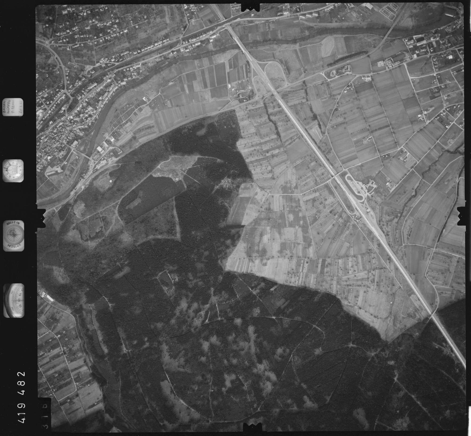 Luftbild: Film 2 Bildnr. 316, Bild 1