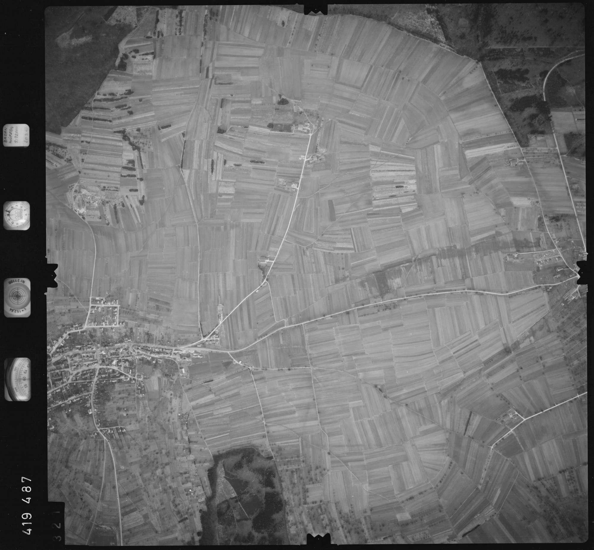 Luftbild: Film 2 Bildnr. 321, Bild 1