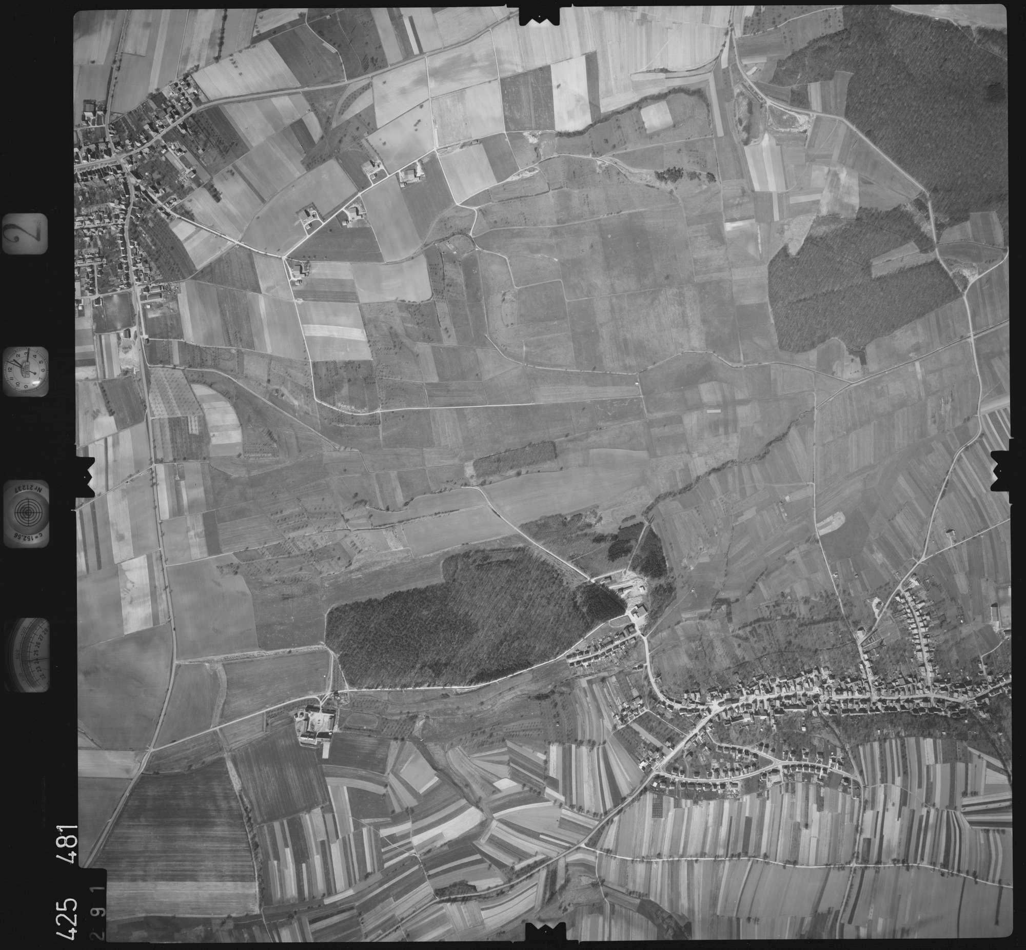 Luftbild: Film 2 Bildnr. 291, Bild 1