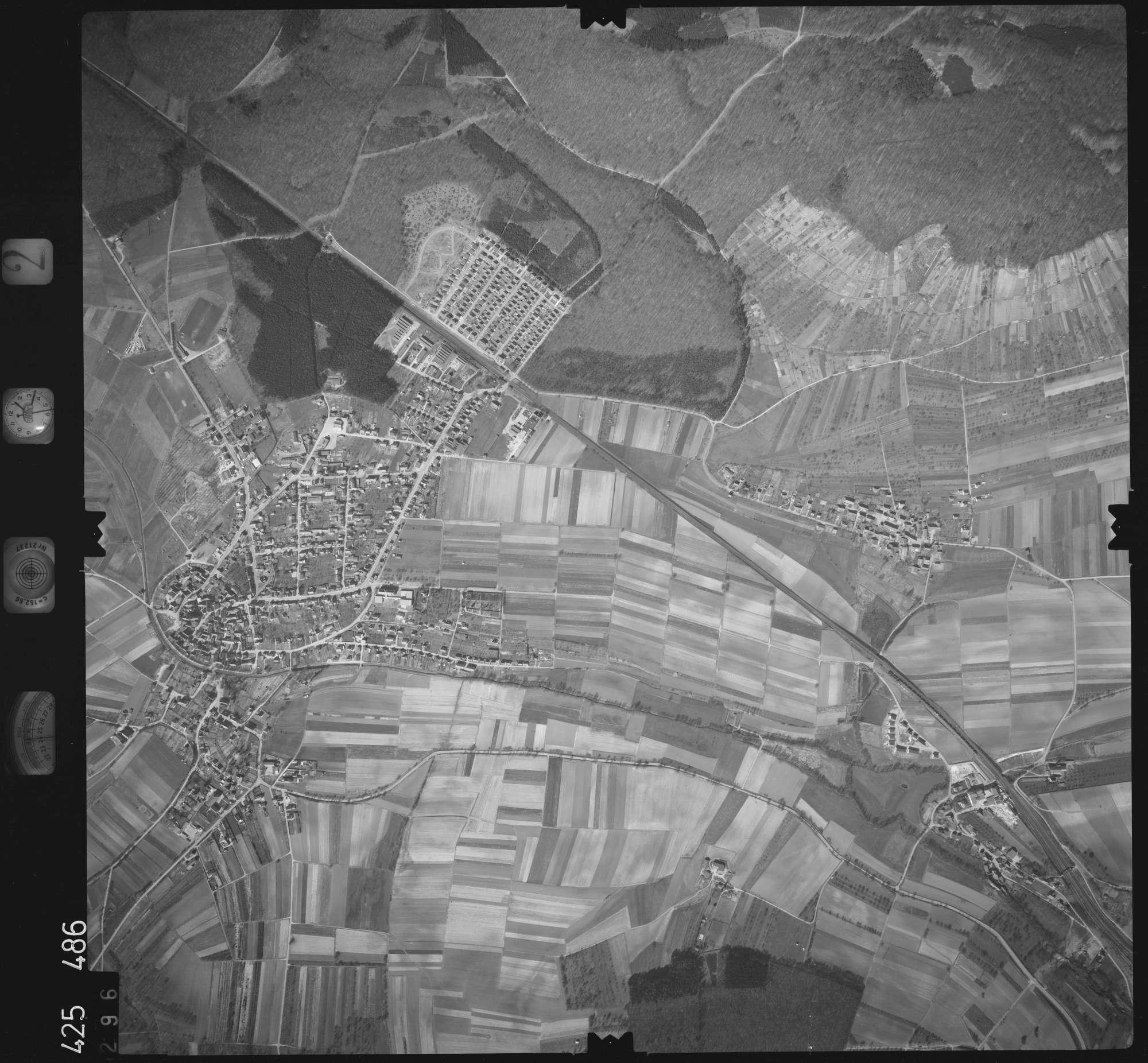 Luftbild: Film 2 Bildnr. 296, Bild 1