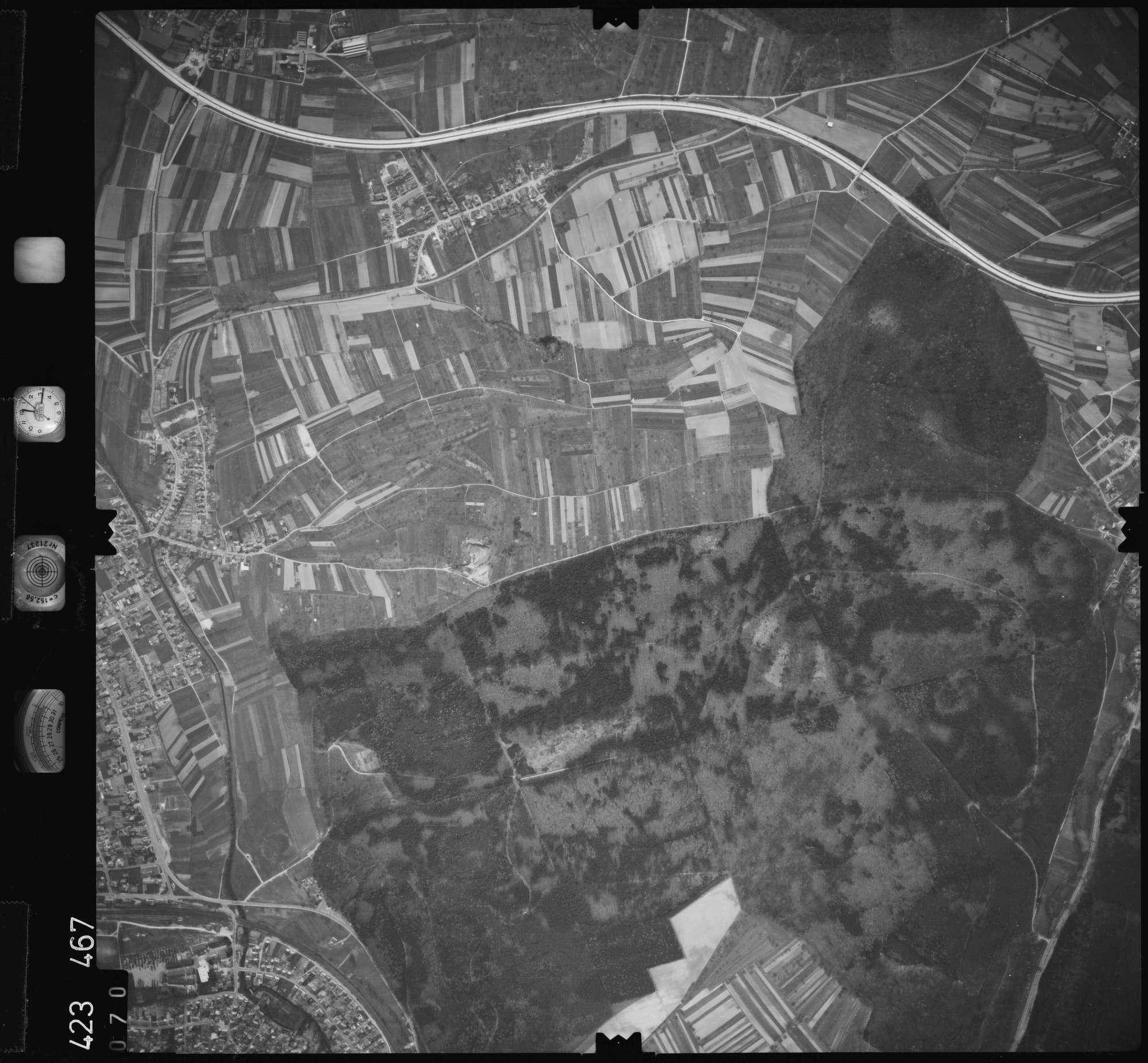 Luftbild: Film 1 Bildnr. 70, Bild 1