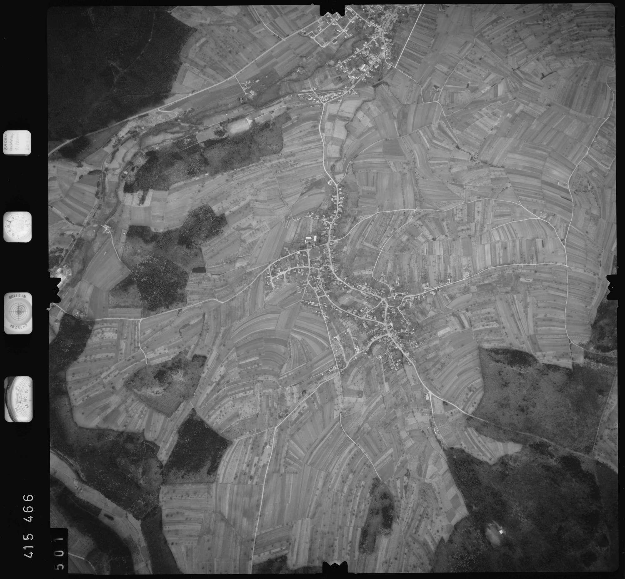 Luftbild: Film 2 Bildnr. 501, Bild 1