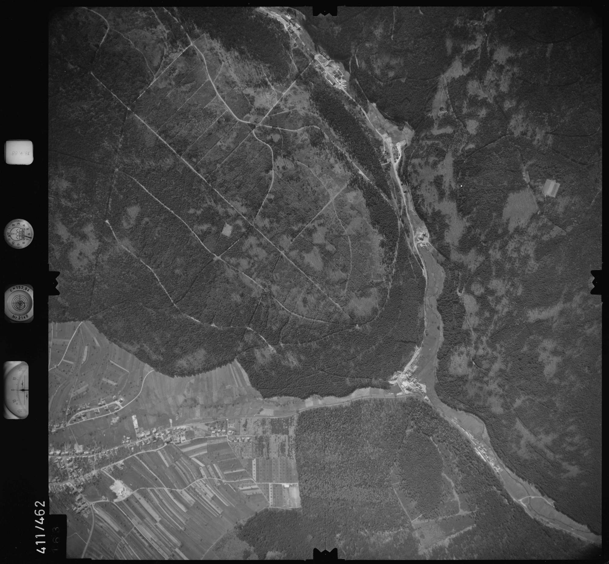 Luftbild: Film 4 Bildnr. 163, Bild 1