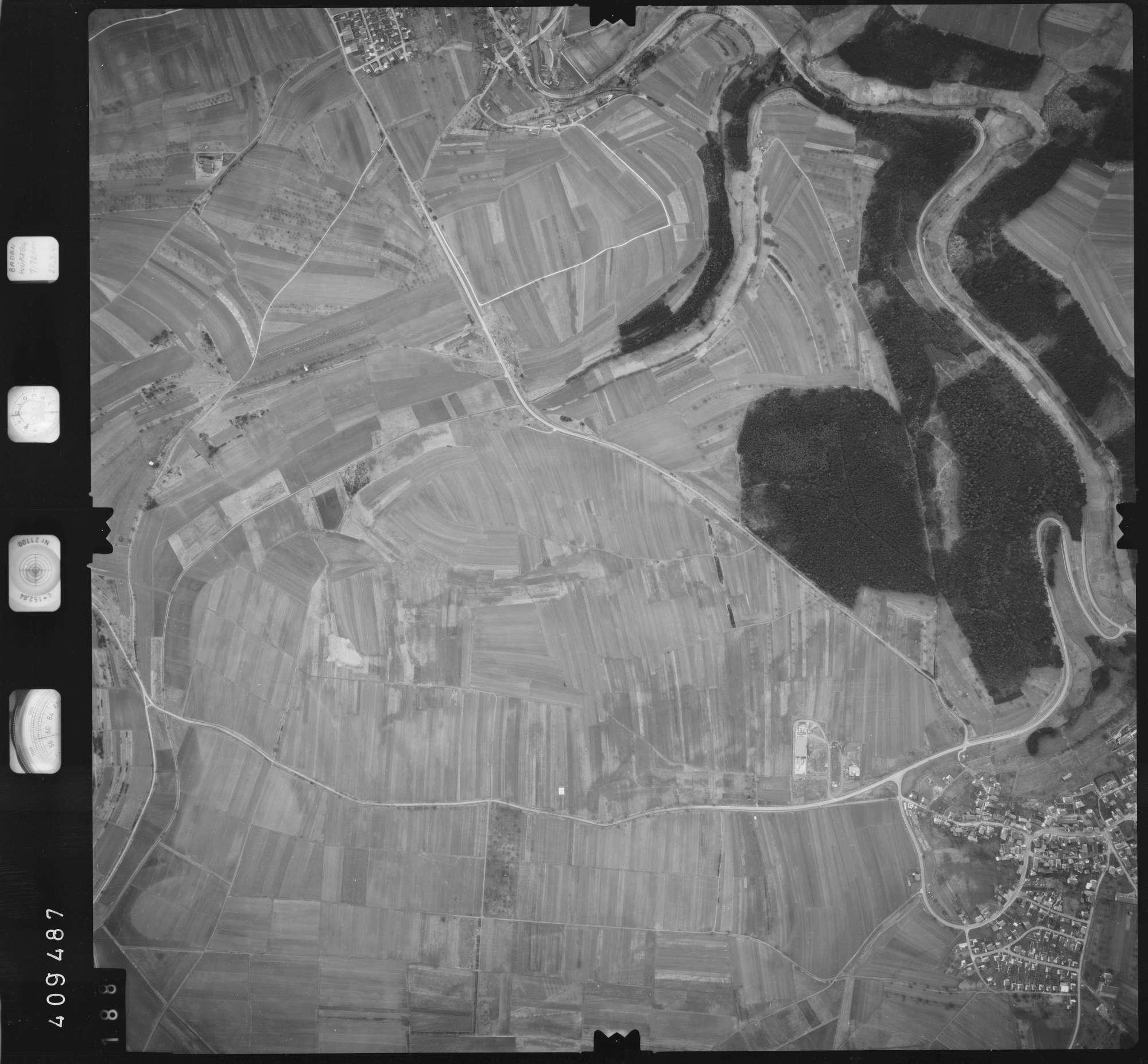 Luftbild: Film 5 Bildnr. 188, Bild 1
