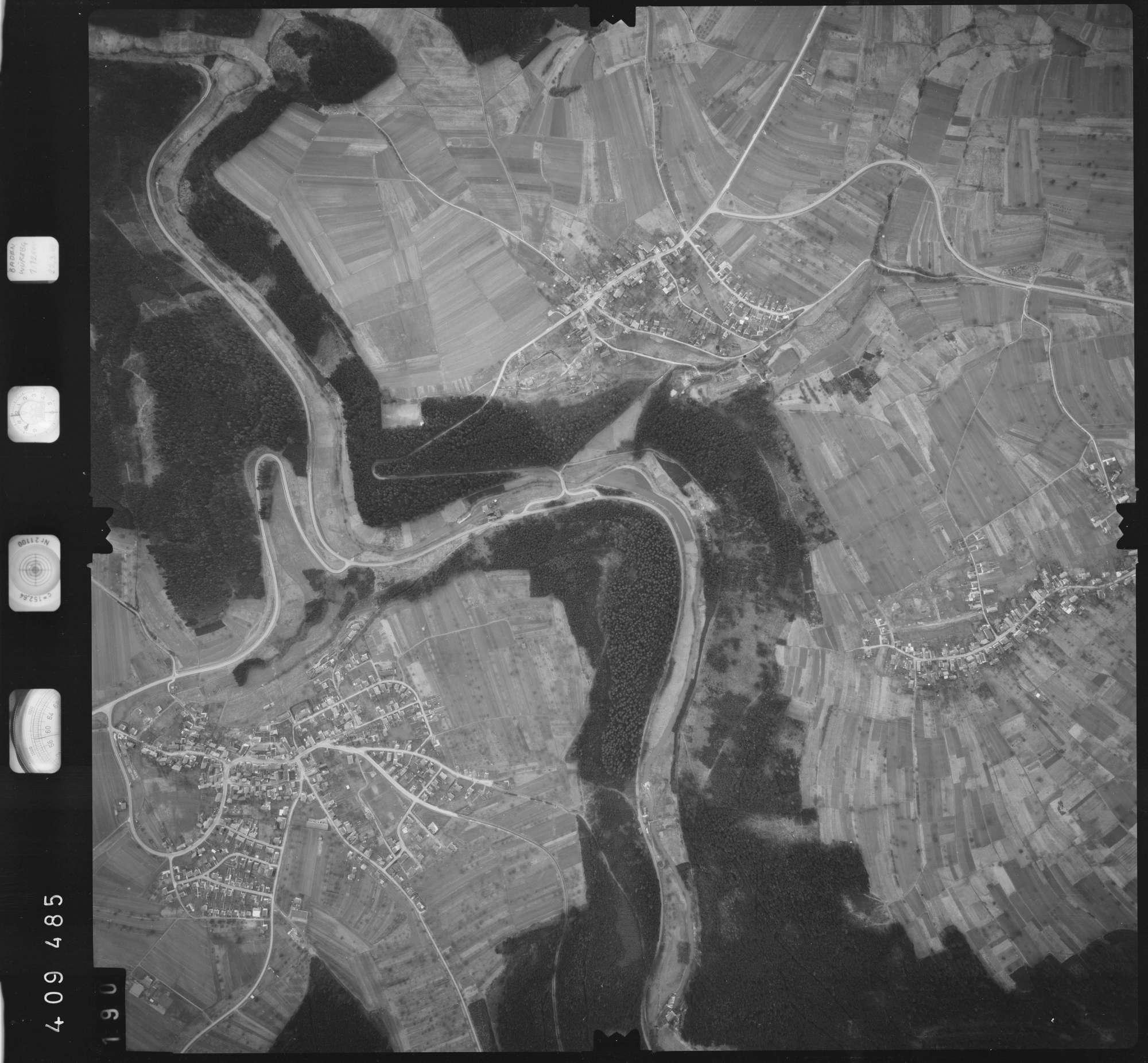 Luftbild: Film 5 Bildnr. 190, Bild 1