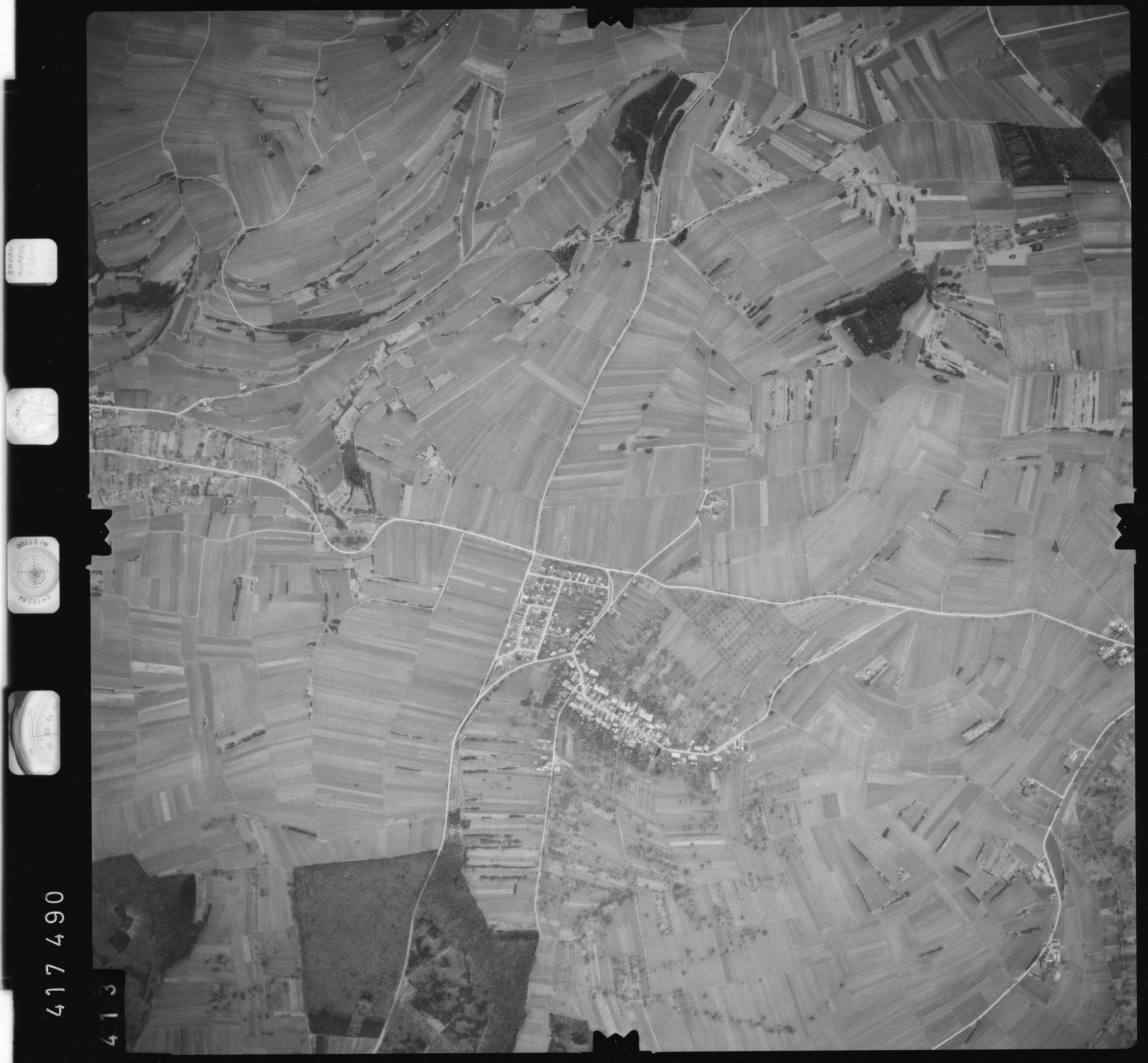 Luftbild: Film 2 Bildnr. 413, Bild 1