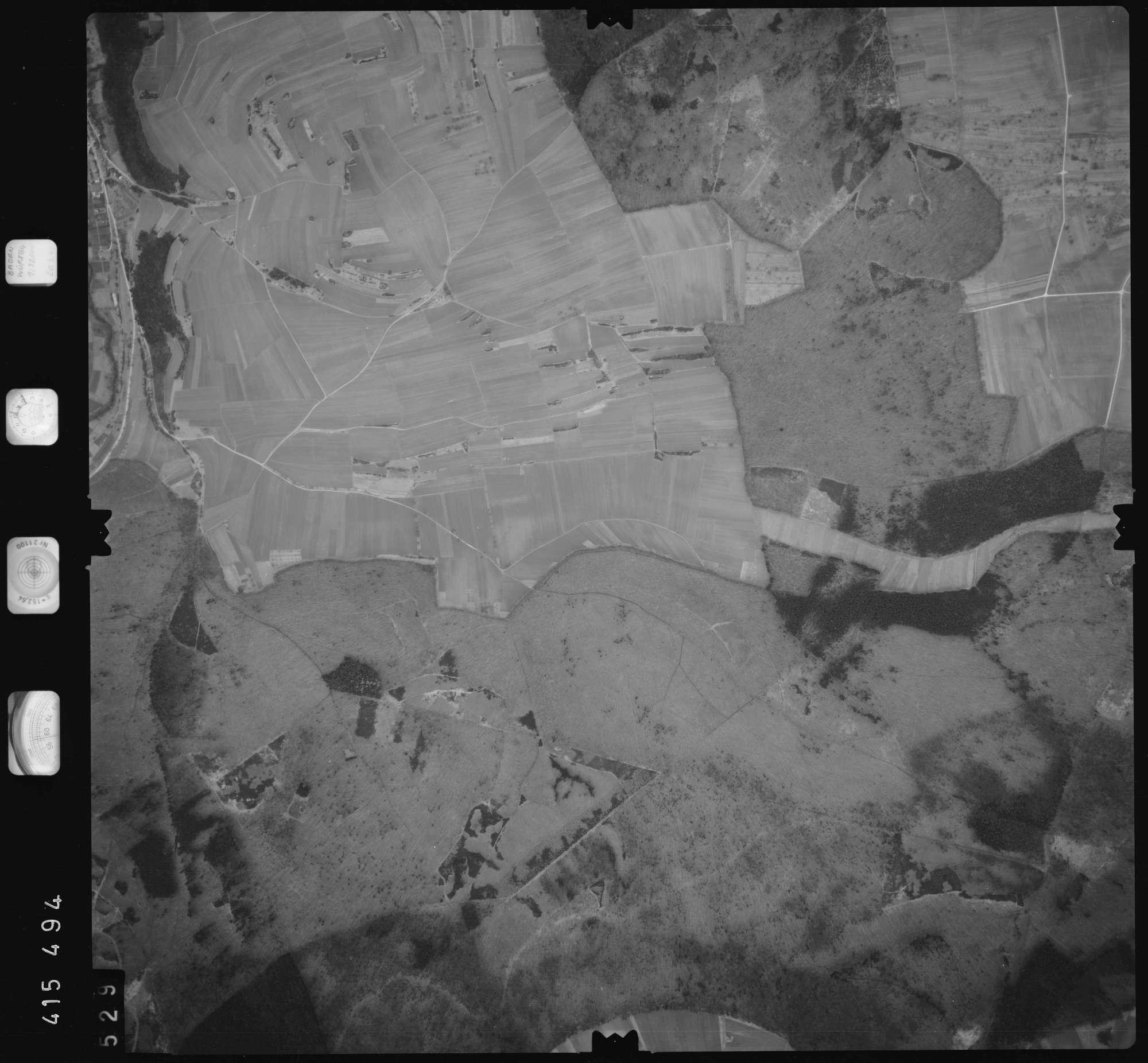 Luftbild: Film 2 Bildnr. 529, Bild 1