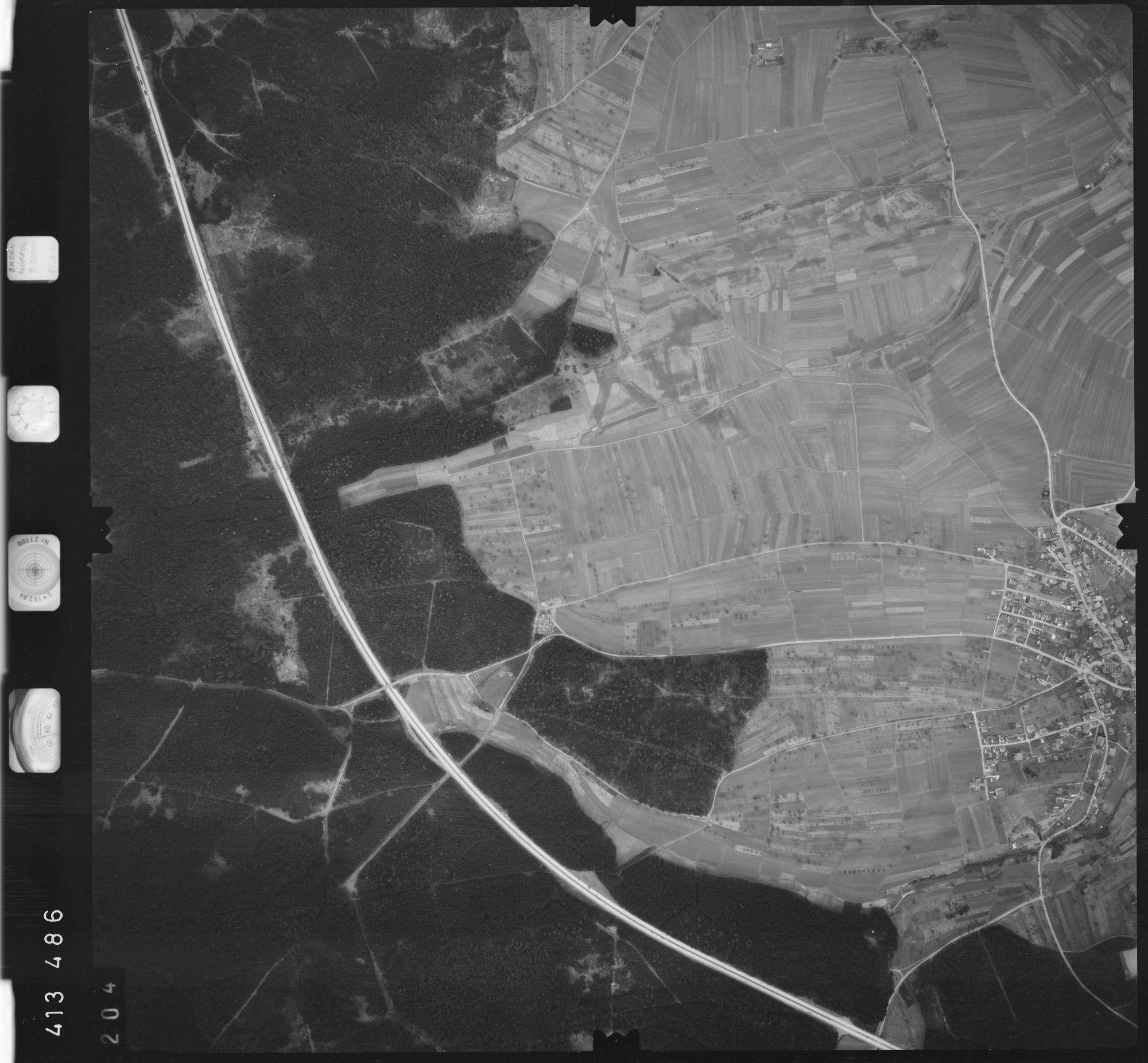Luftbild: Film 5 Bildnr. 204, Bild 1