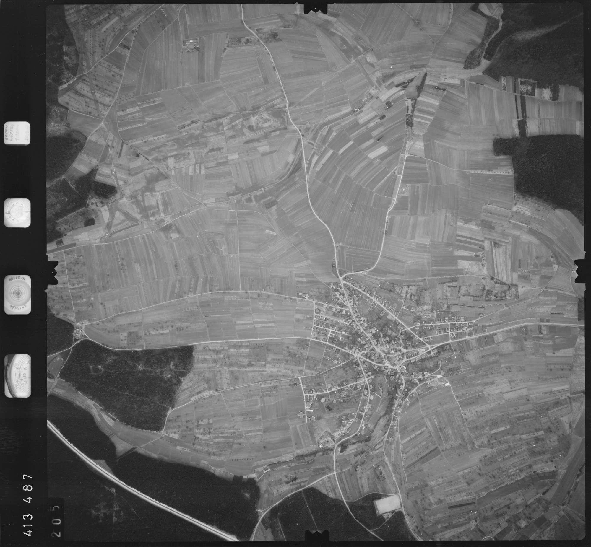 Luftbild: Film 5 Bildnr. 205, Bild 1