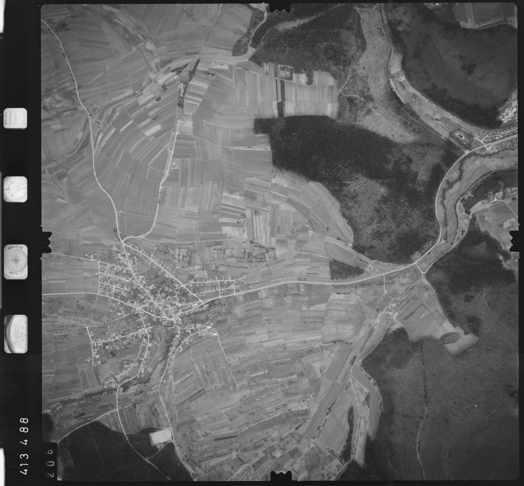 Luftbild: Film 5 Bildnr. 206, Bild 1