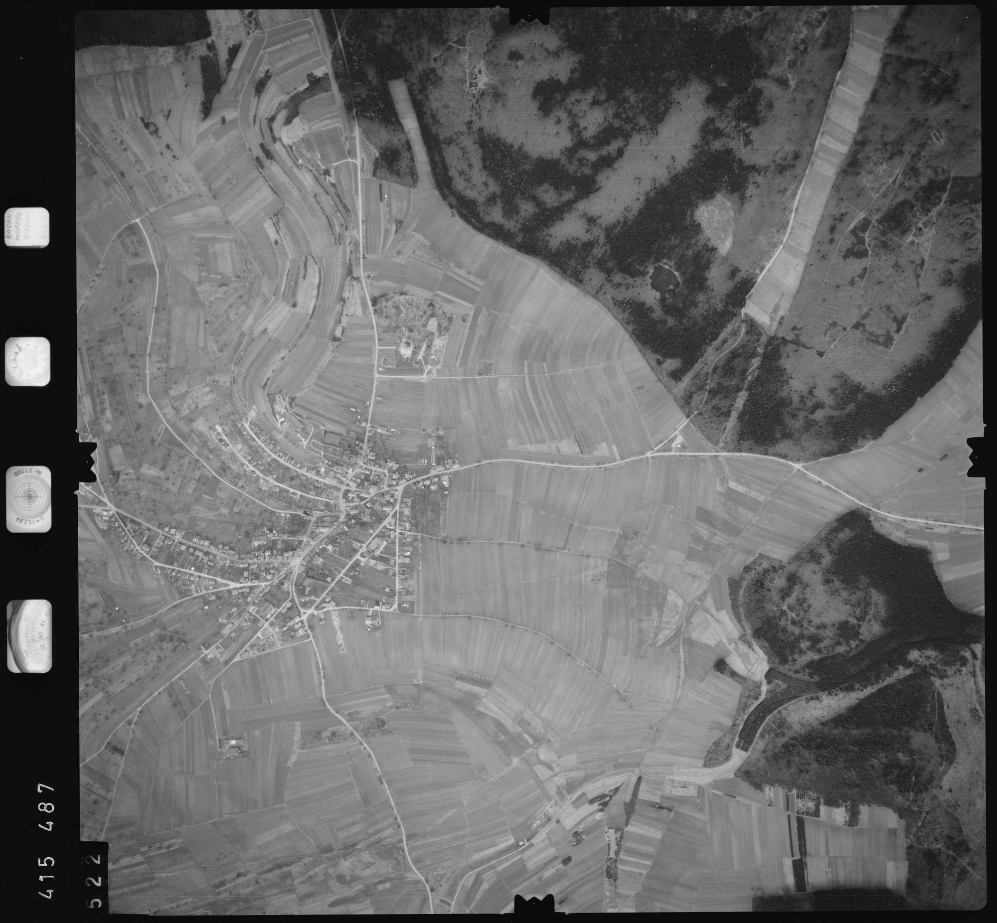 Luftbild: Film 2 Bildnr. 522, Bild 1
