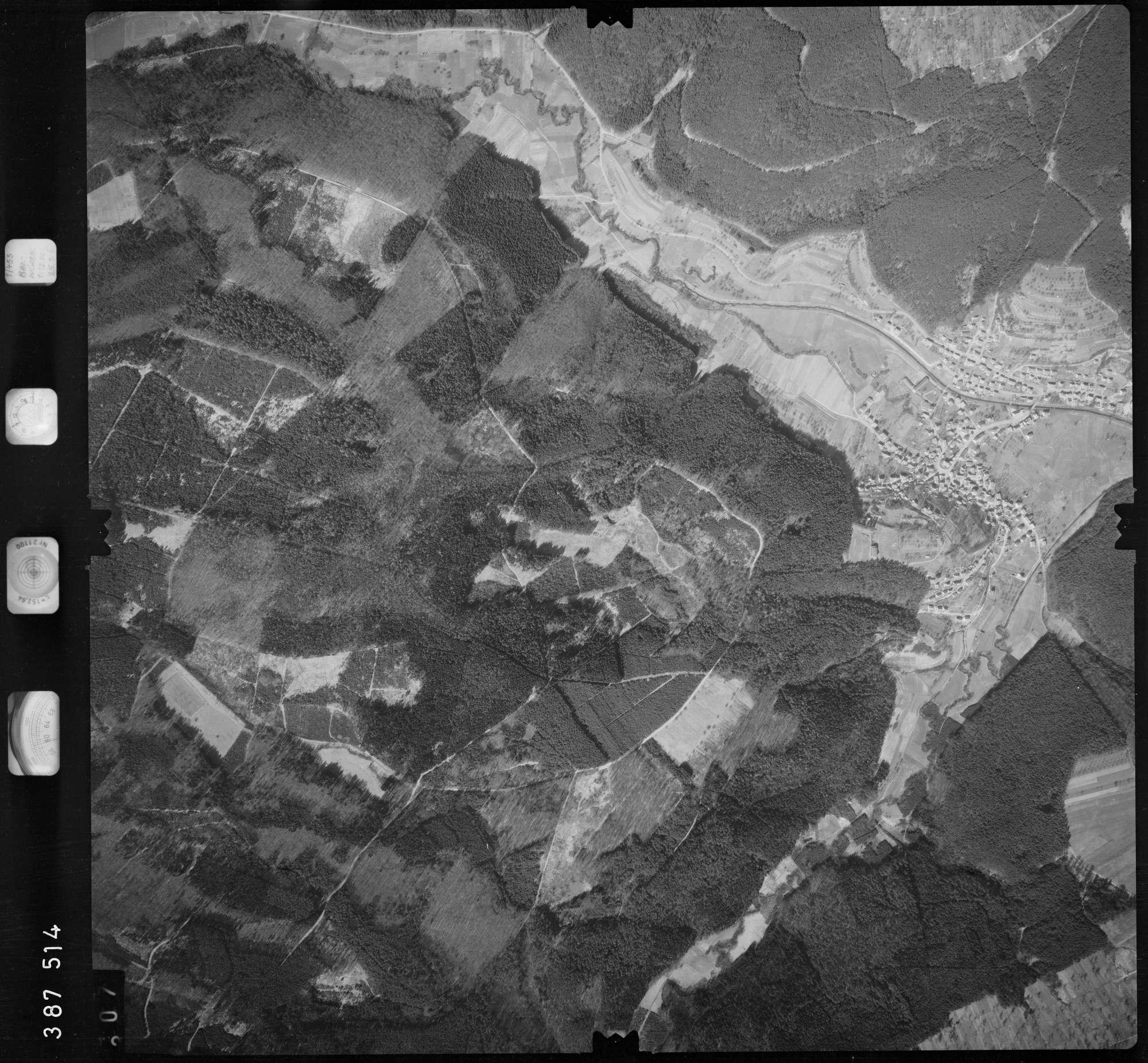 Luftbild: Film 23 Bildnr. 307, Bild 1