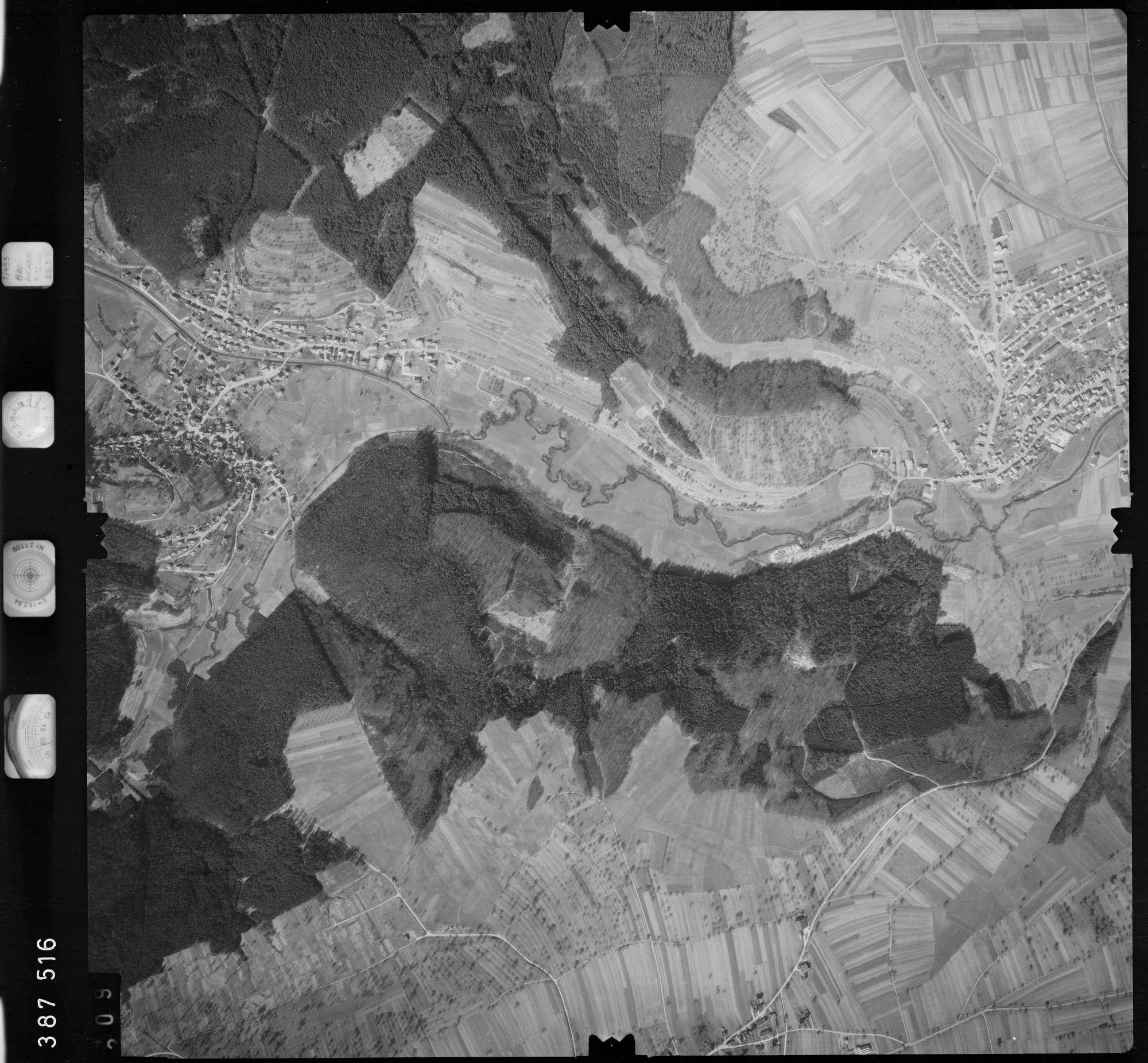 Luftbild: Film 23 Bildnr. 309, Bild 1