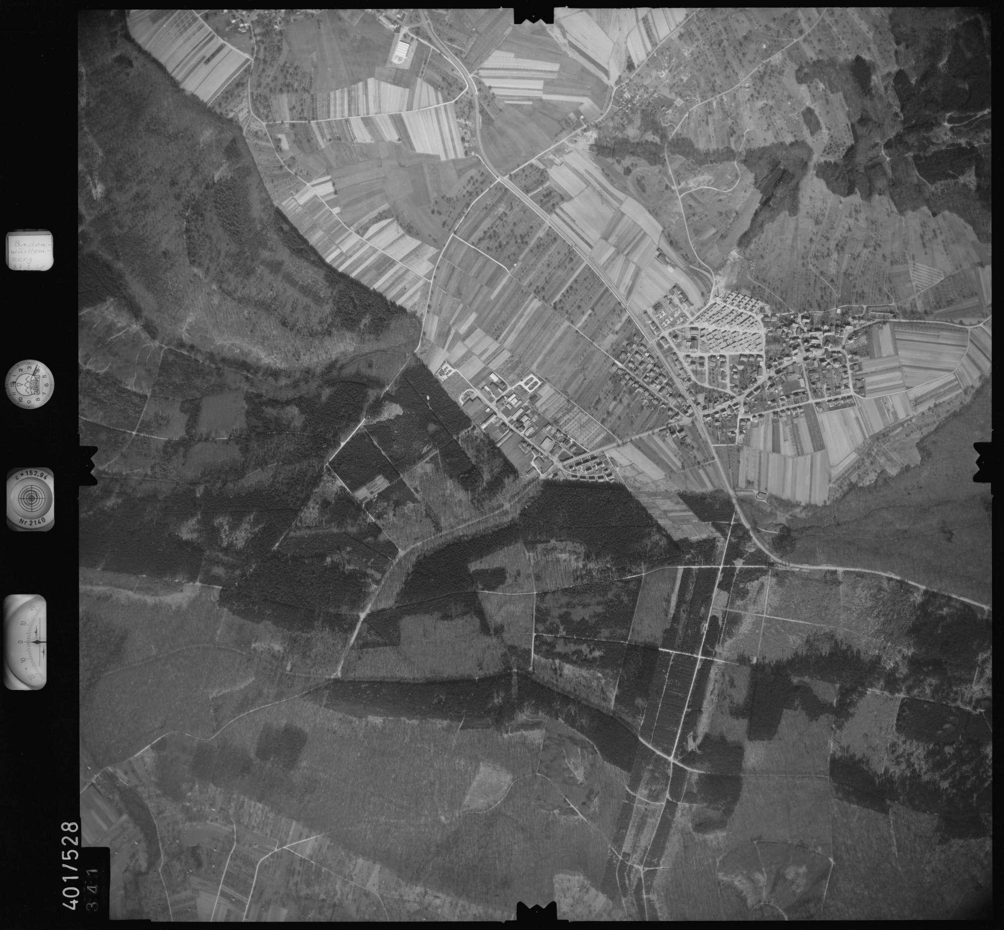 Luftbild: Film 10 Bildnr. 341, Bild 1