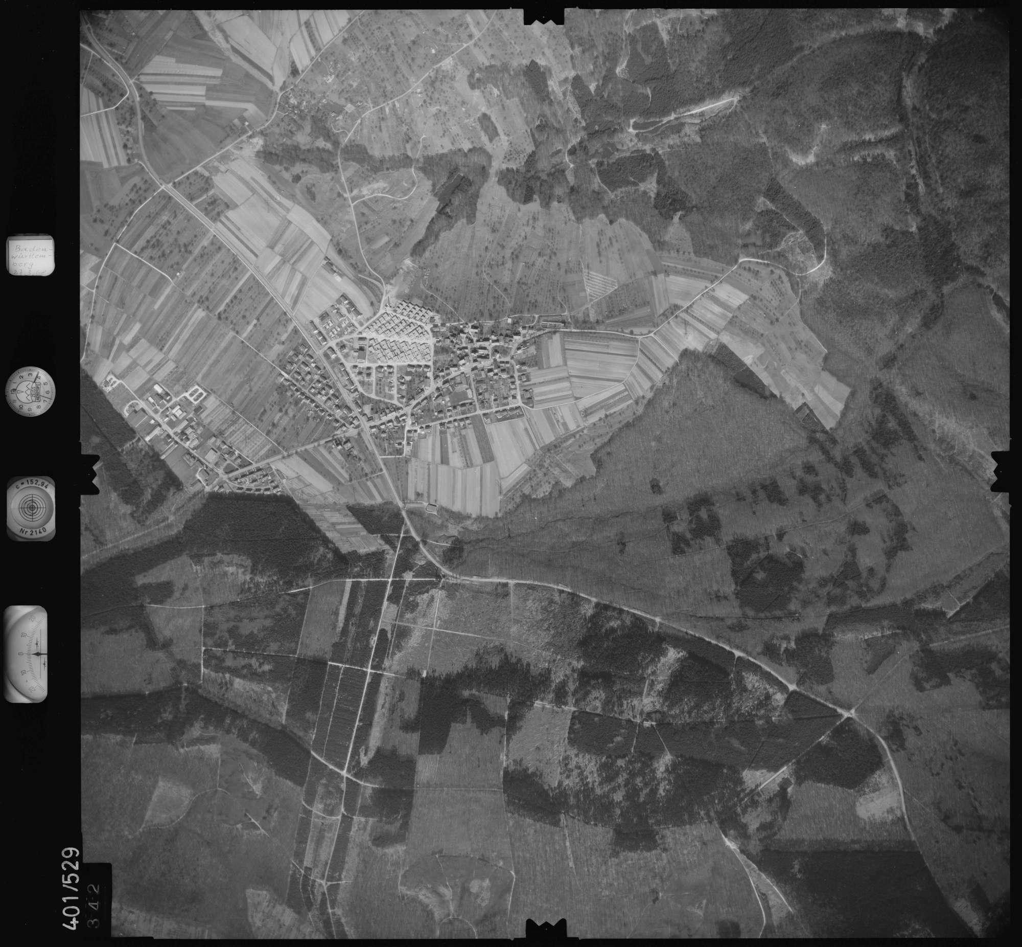 Luftbild: Film 10 Bildnr. 342, Bild 1