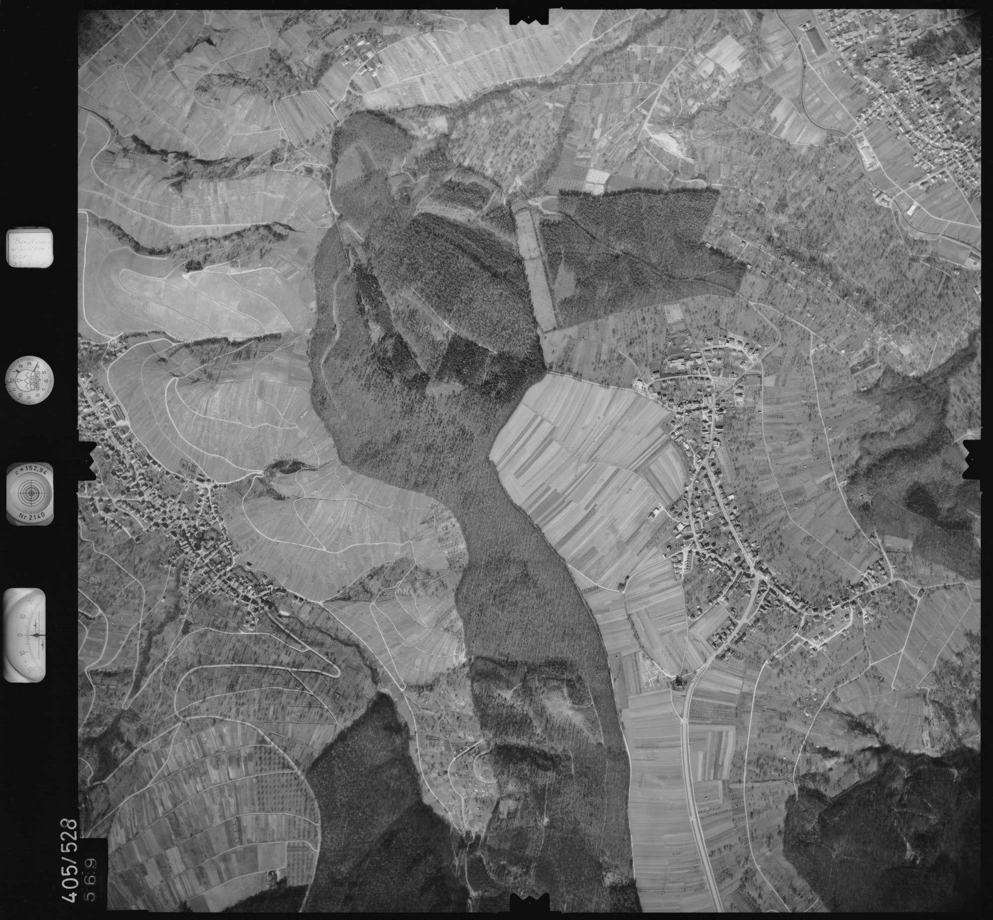 Luftbild: Film 10 Bildnr. 569, Bild 1