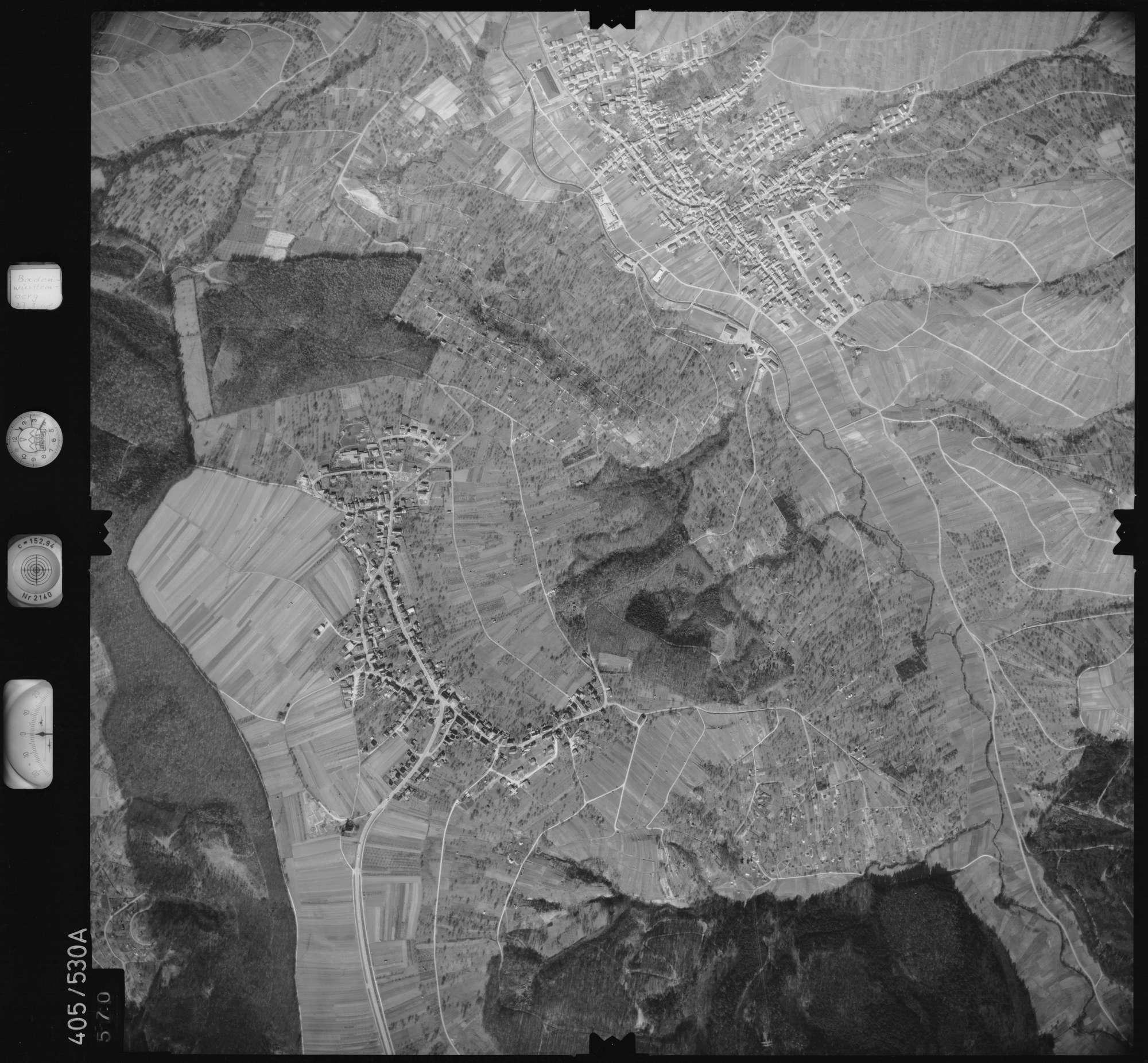 Luftbild: Film 10 Bildnr. 570, Bild 1