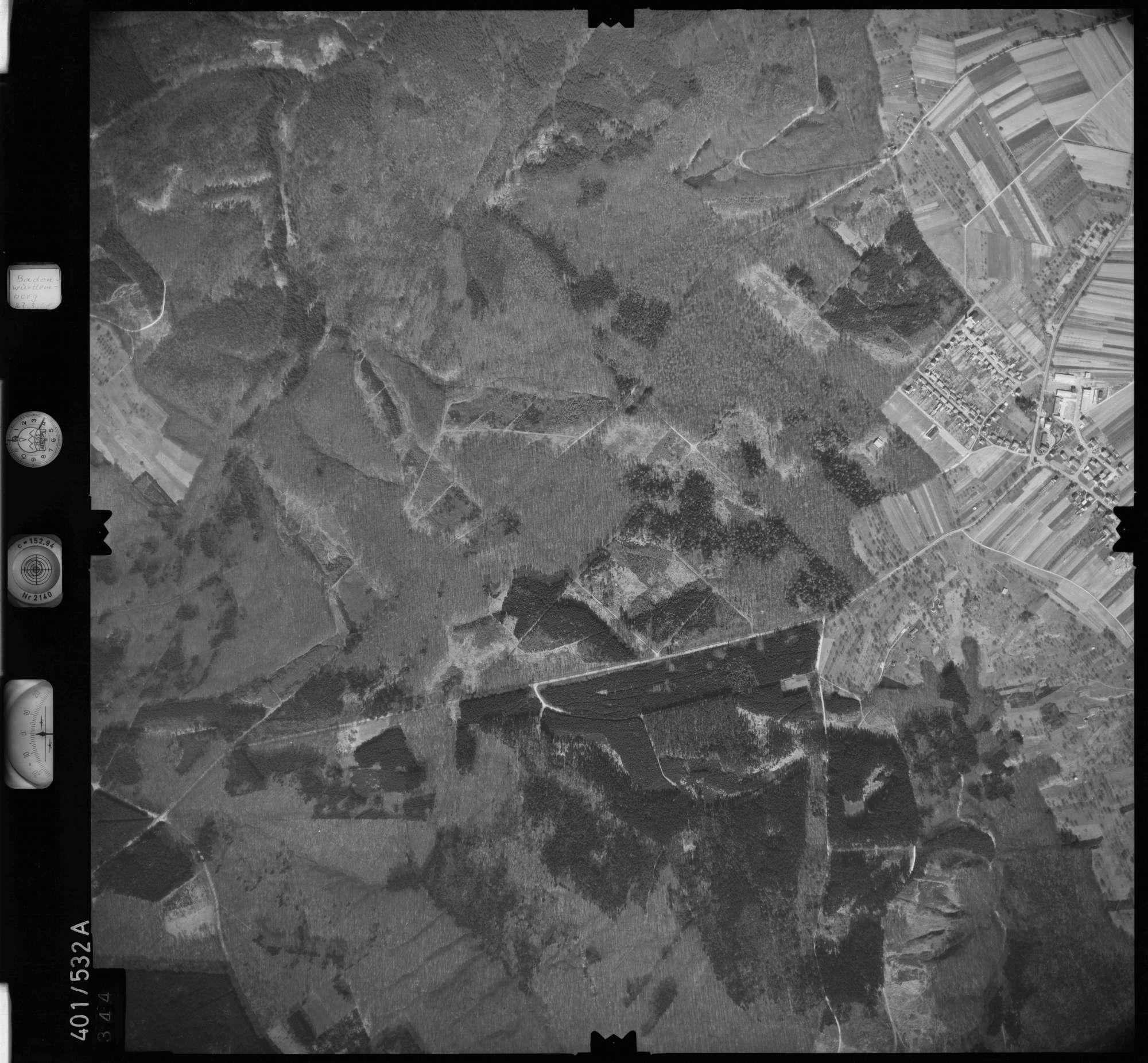 Luftbild: Film 10 Bildnr. 344, Bild 1