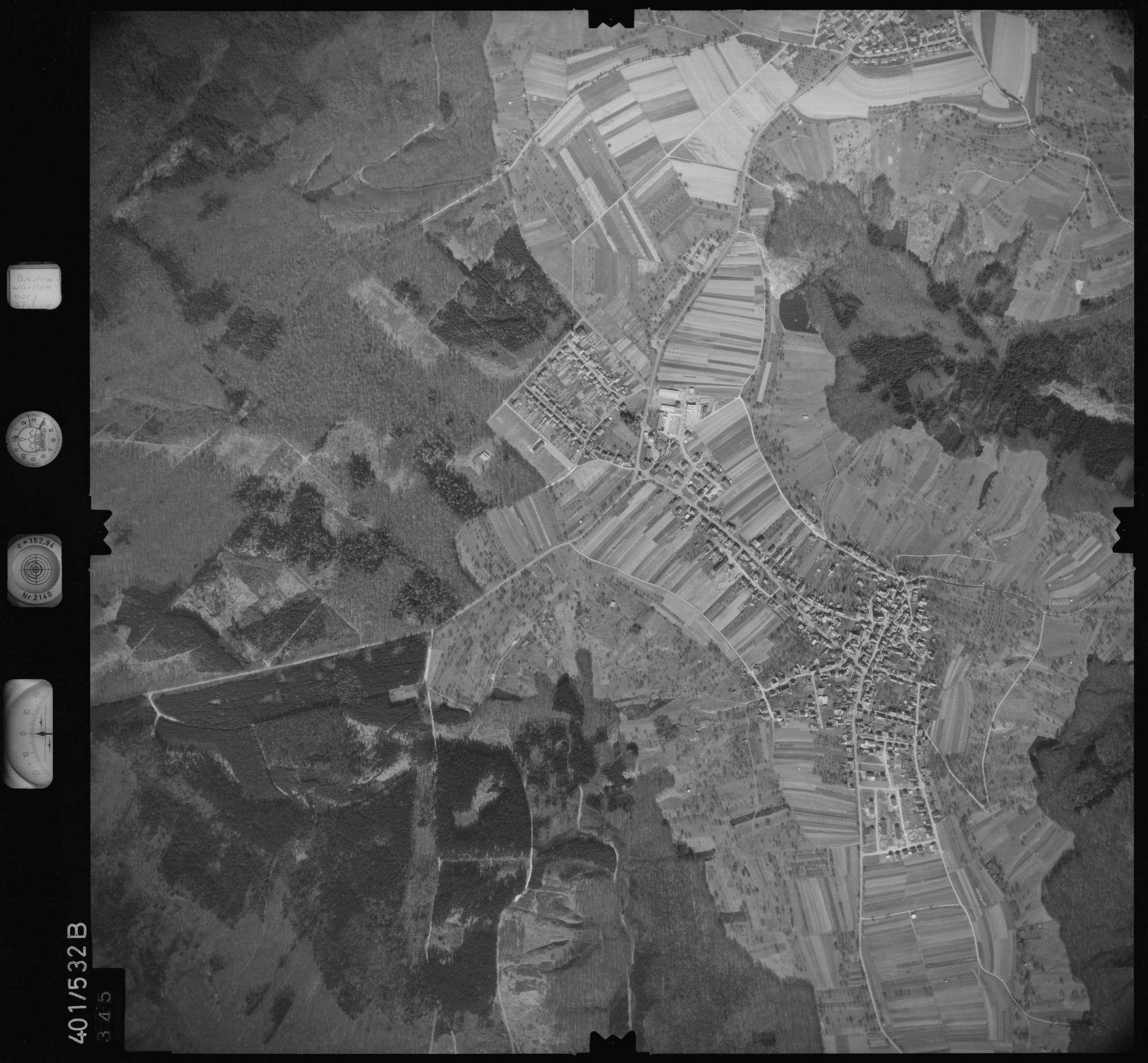 Luftbild: Film 10 Bildnr. 345, Bild 1