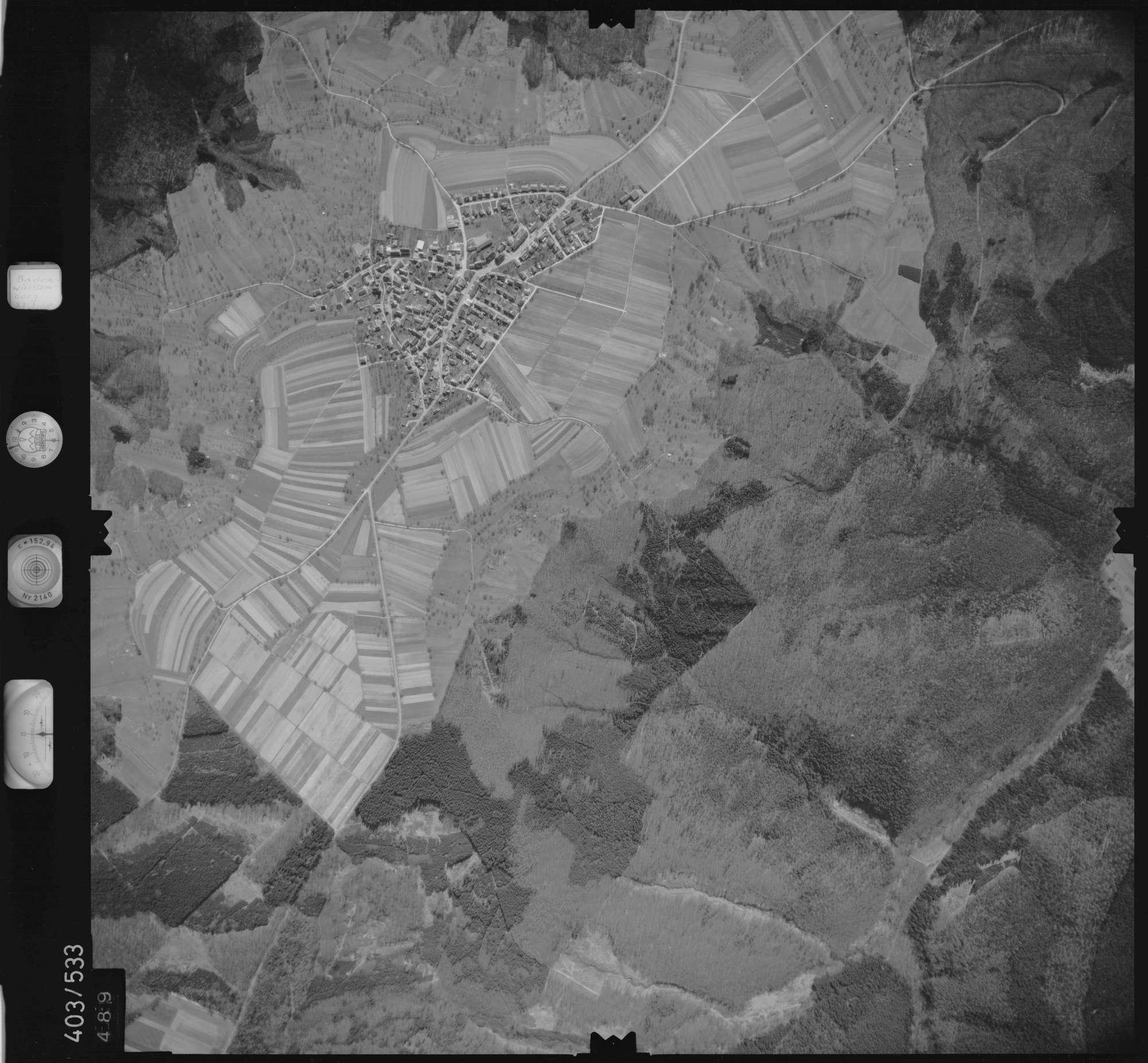 Luftbild: Film 10 Bildnr. 489, Bild 1