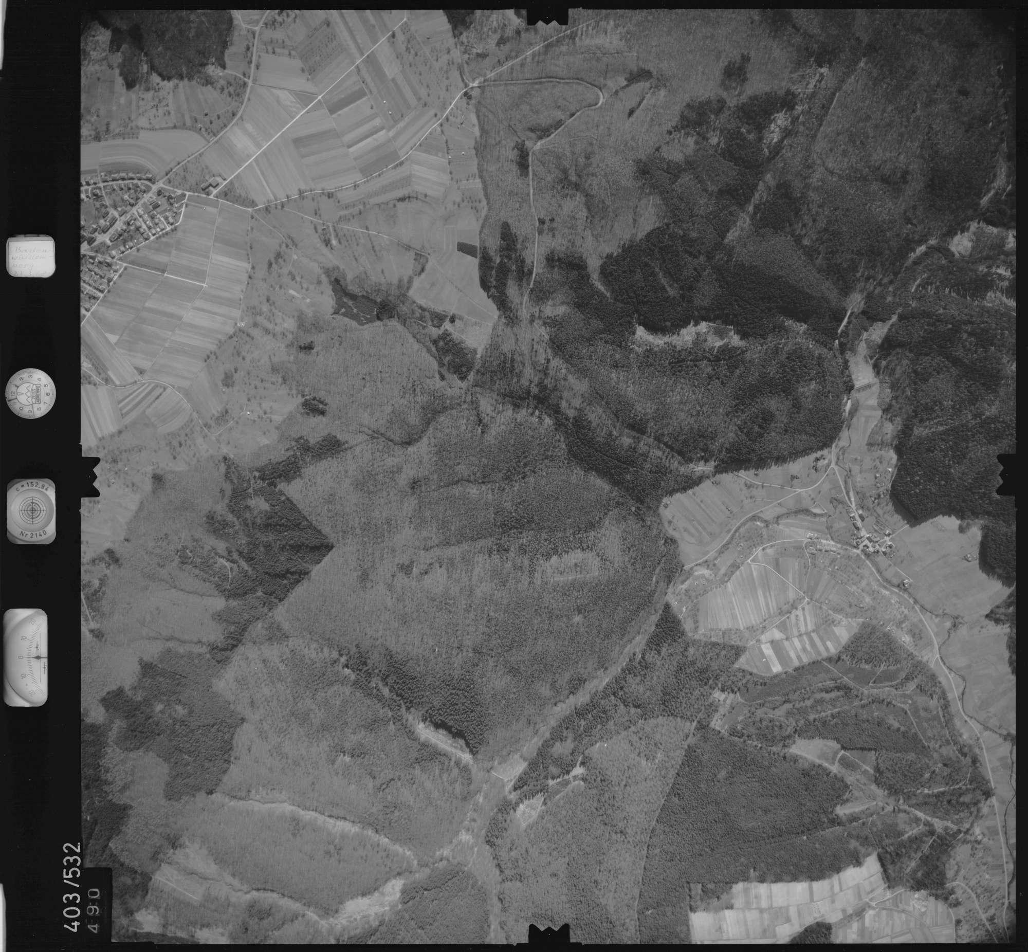 Luftbild: Film 10 Bildnr. 490, Bild 1