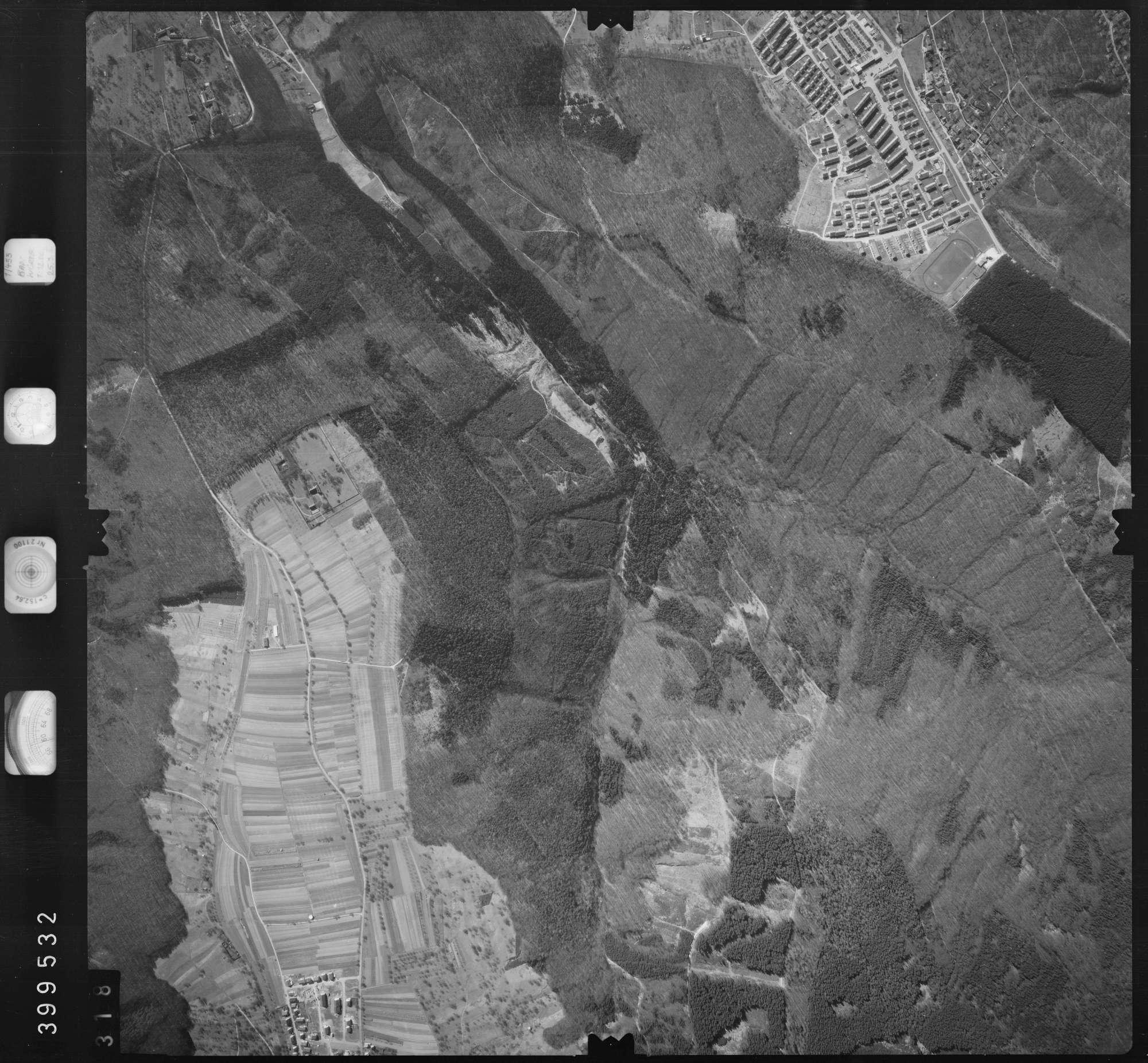 Luftbild: Film 13 Bildnr. 318, Bild 1