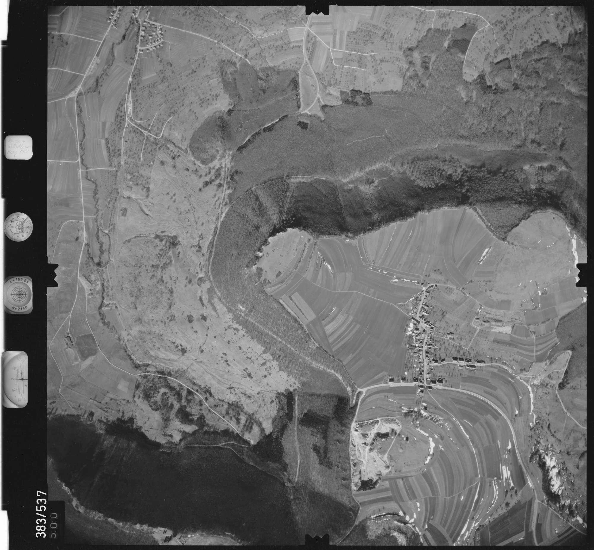 Luftbild: Film 26 Bildnr. 500, Bild 1