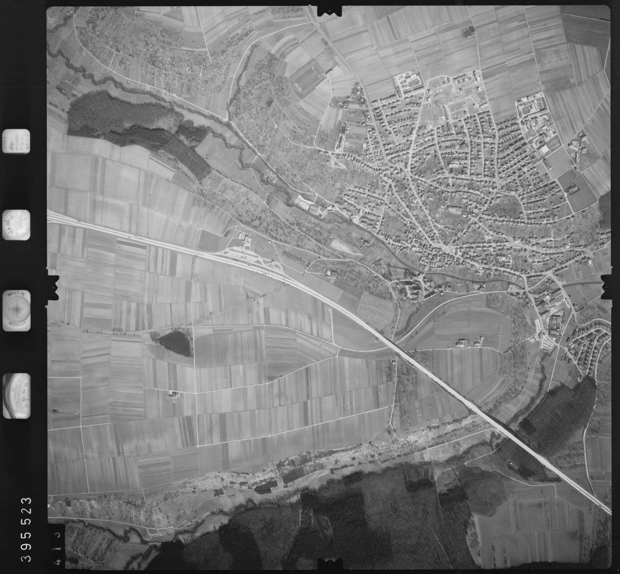 Luftbild: Film 13 Bildnr. 413, Bild 1
