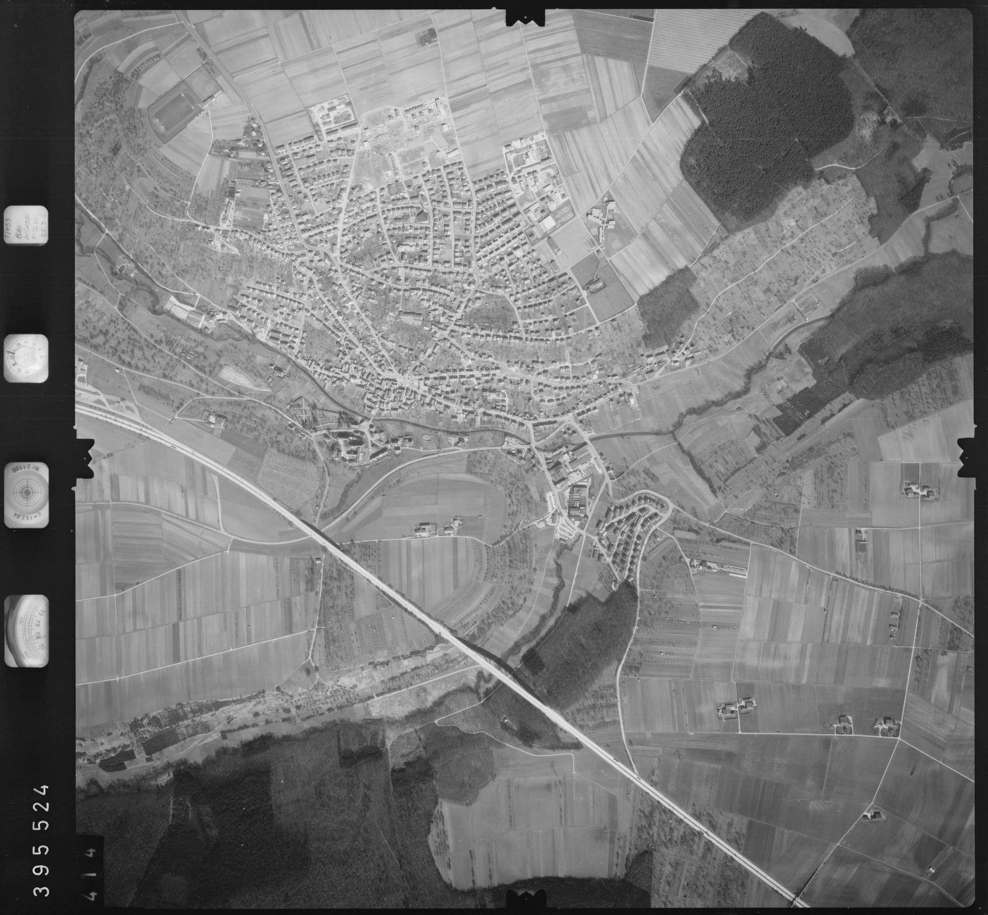 Luftbild: Film 13 Bildnr. 414, Bild 1