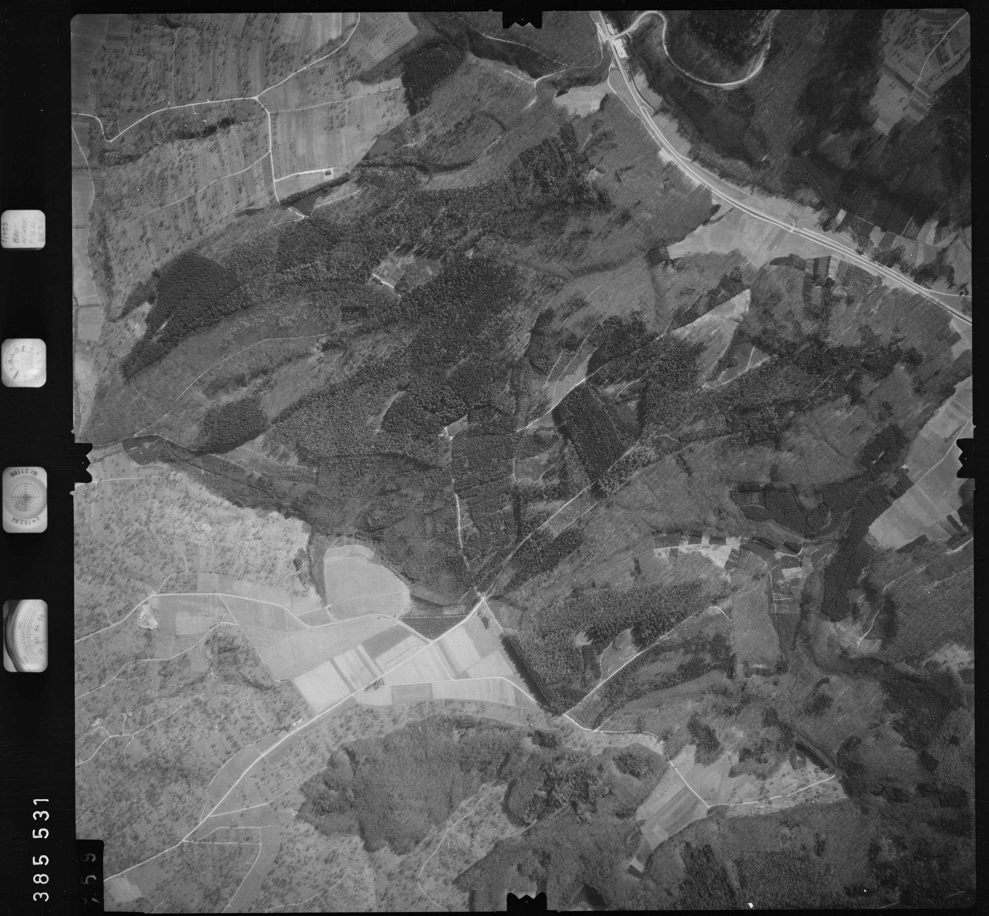 Luftbild: Film 23 Bildnr. 458, Bild 1