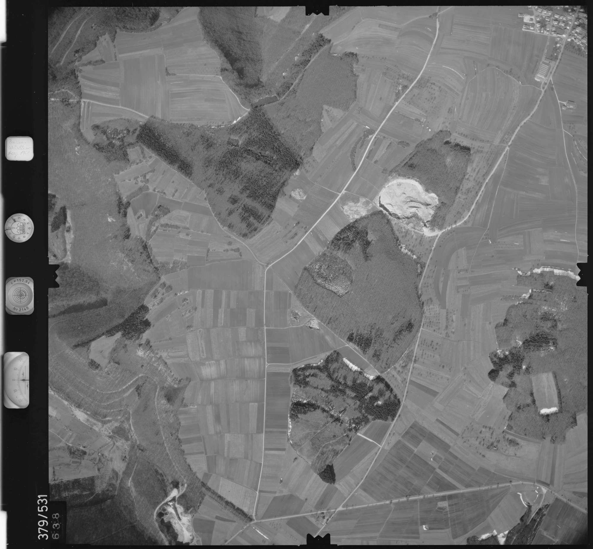 Luftbild: Film 31 Bildnr. 638, Bild 1