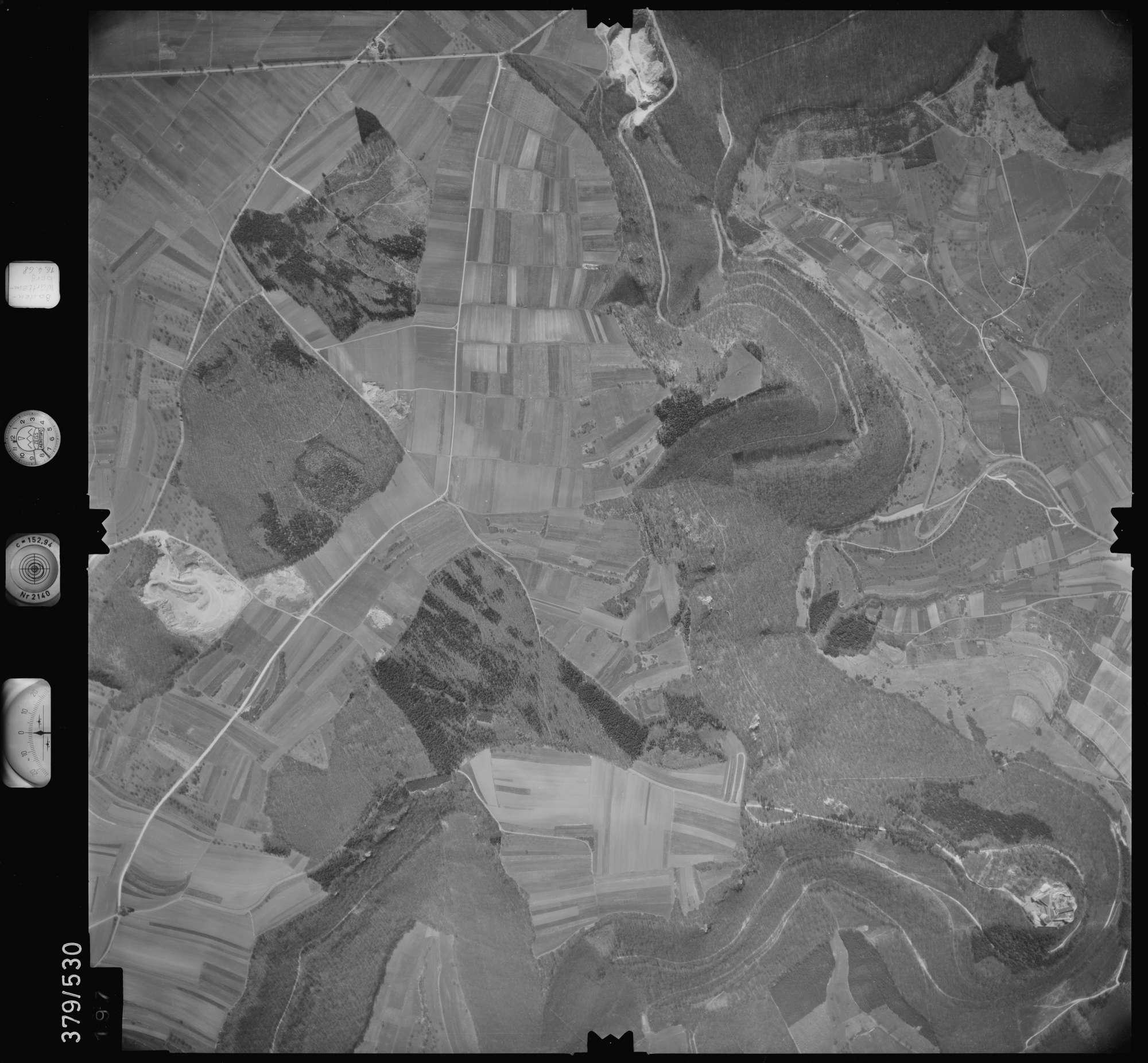 Luftbild: Film 32 Bildnr. 197, Bild 1