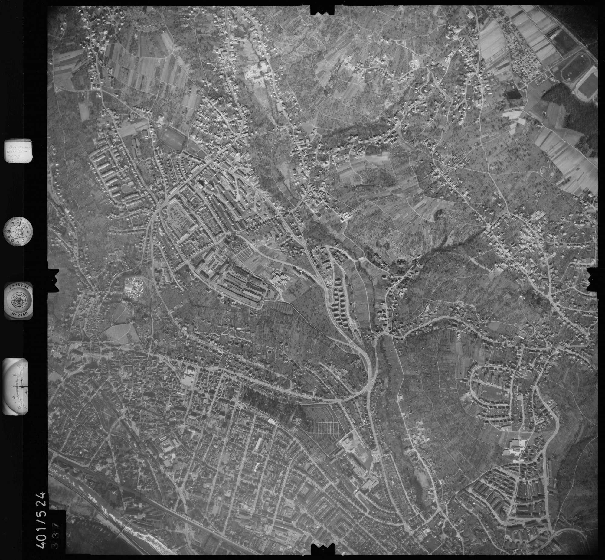 Luftbild: Film 10 Bildnr. 337, Bild 1