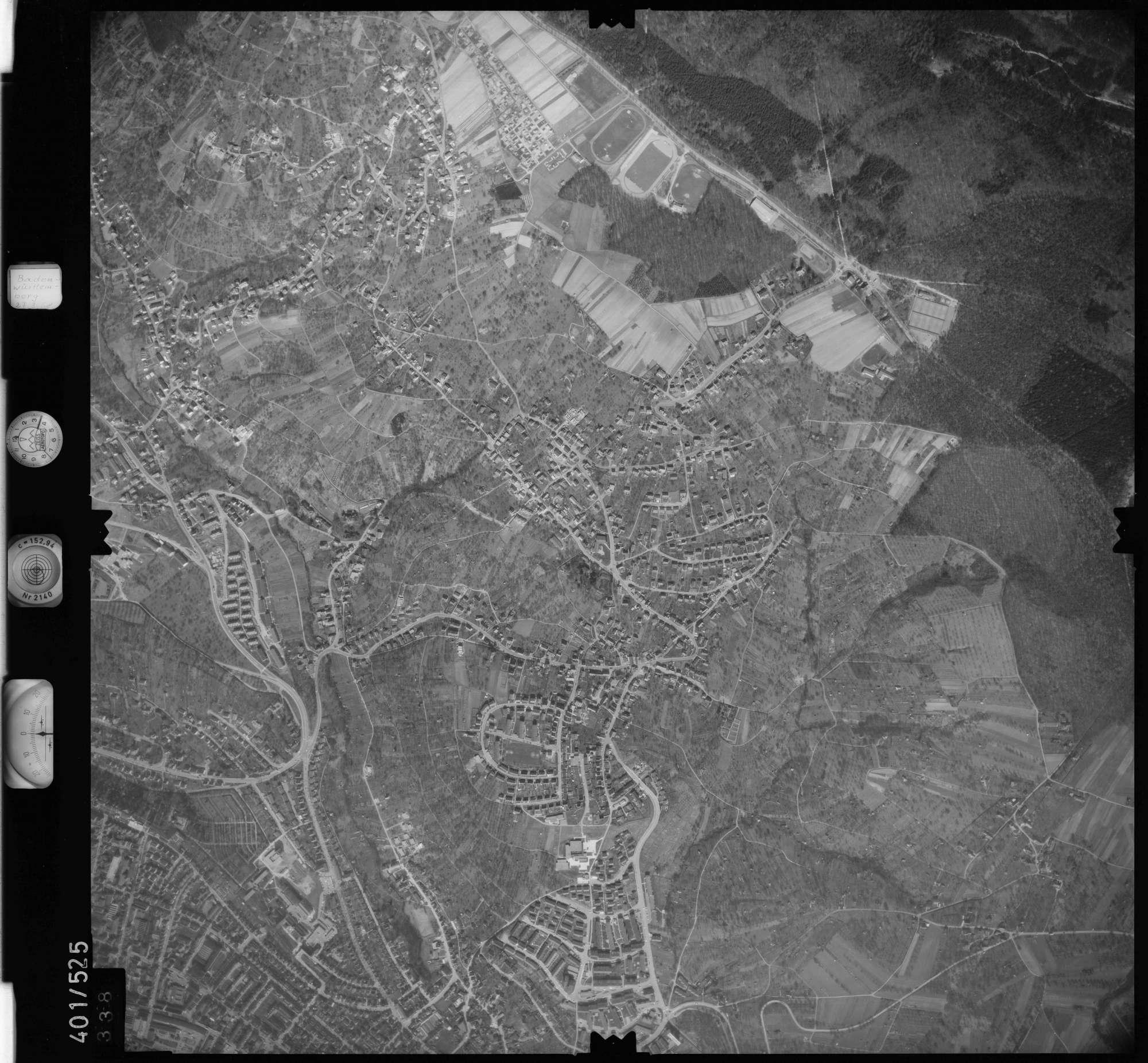 Luftbild: Film 10 Bildnr. 338, Bild 1