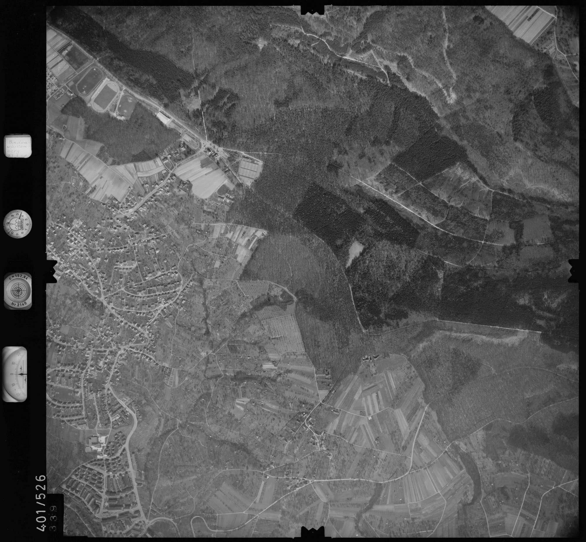Luftbild: Film 10 Bildnr. 339, Bild 1