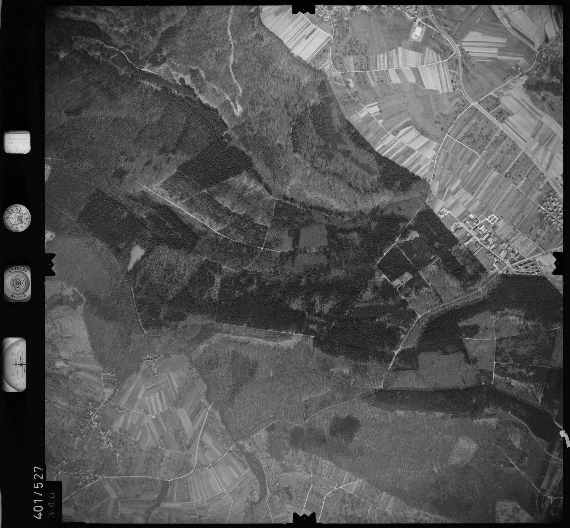 Luftbild: Film 10 Bildnr. 340, Bild 1